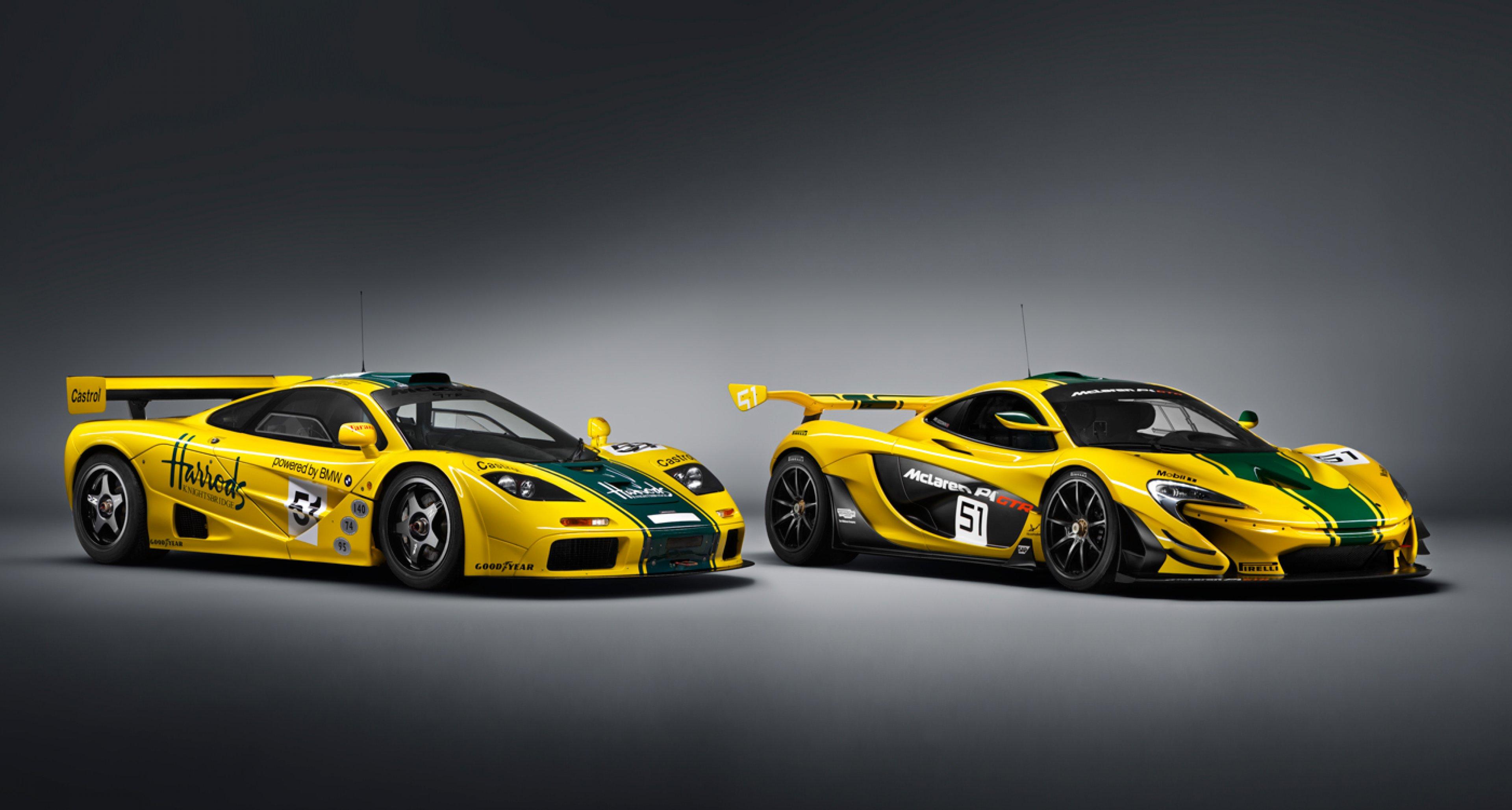 Production Spec Mclaren P1 Gtr Wears Legendary Le Mans Livery Classic Driver Magazine