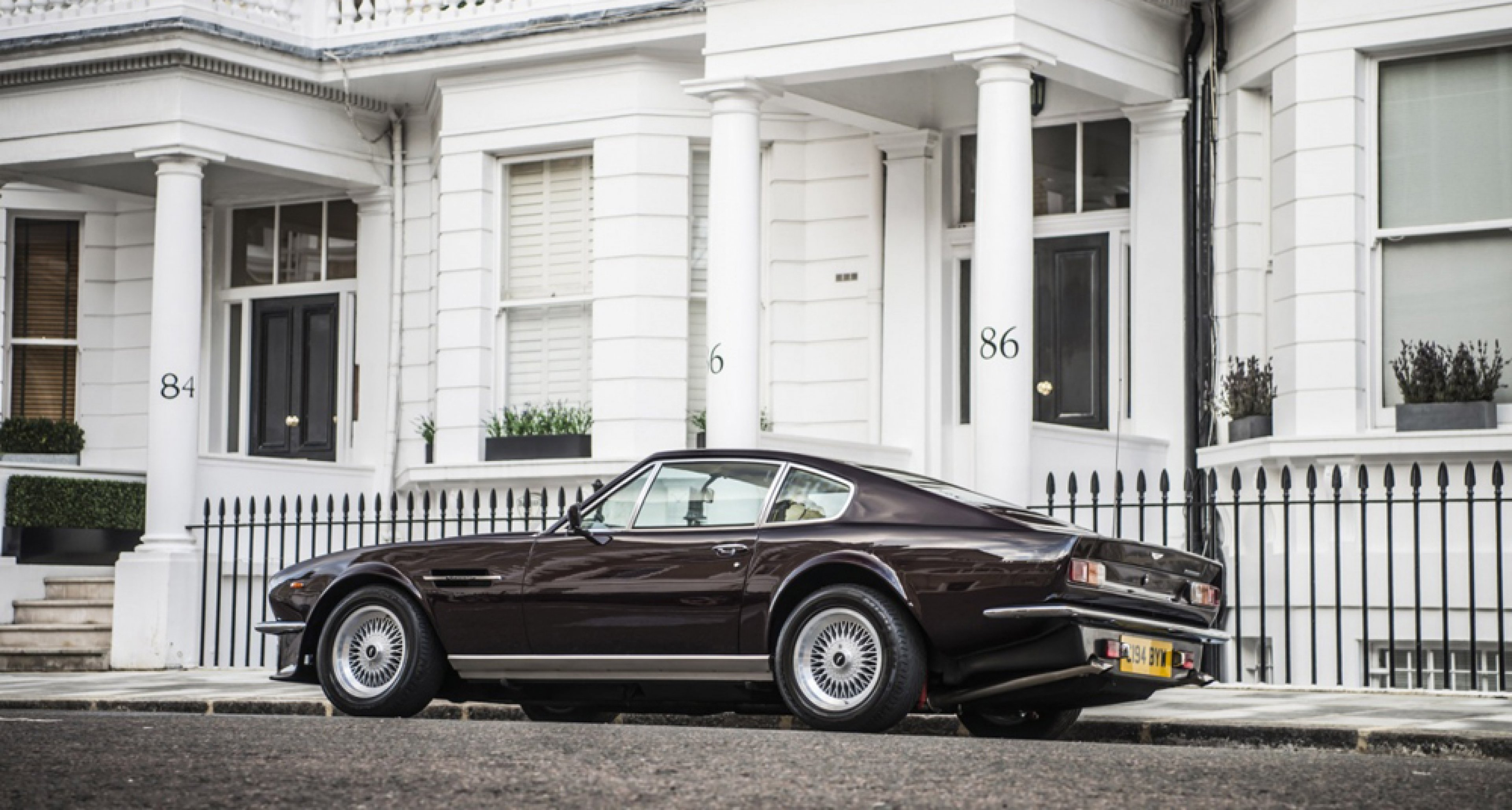 For Rocket Men Only Sir Elton John S Aston Martin V8 Vantage Classic Driver Magazine