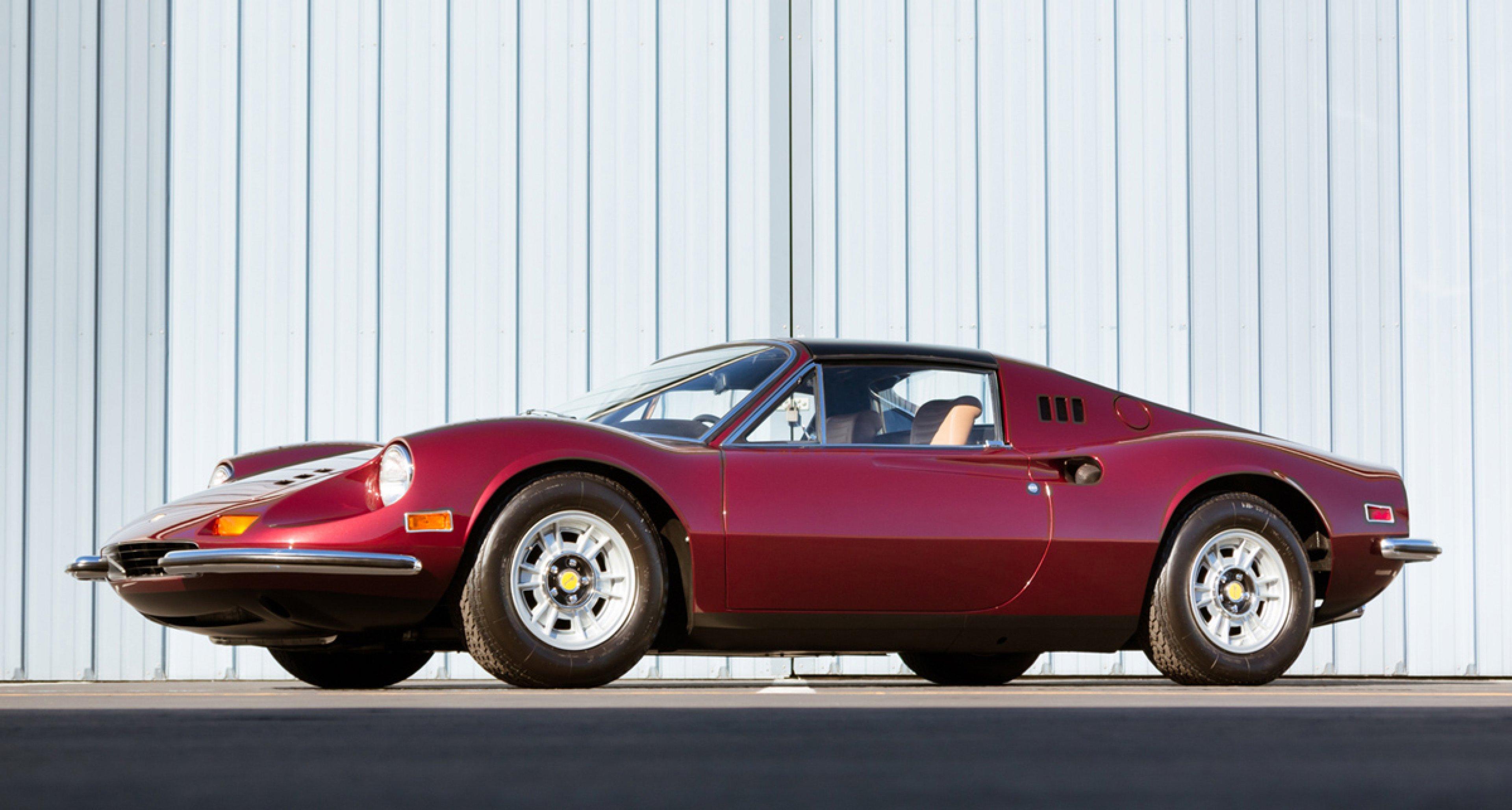 Gooding and Co: 1973 Ferrari 246 GTS Dino (Lot 109)