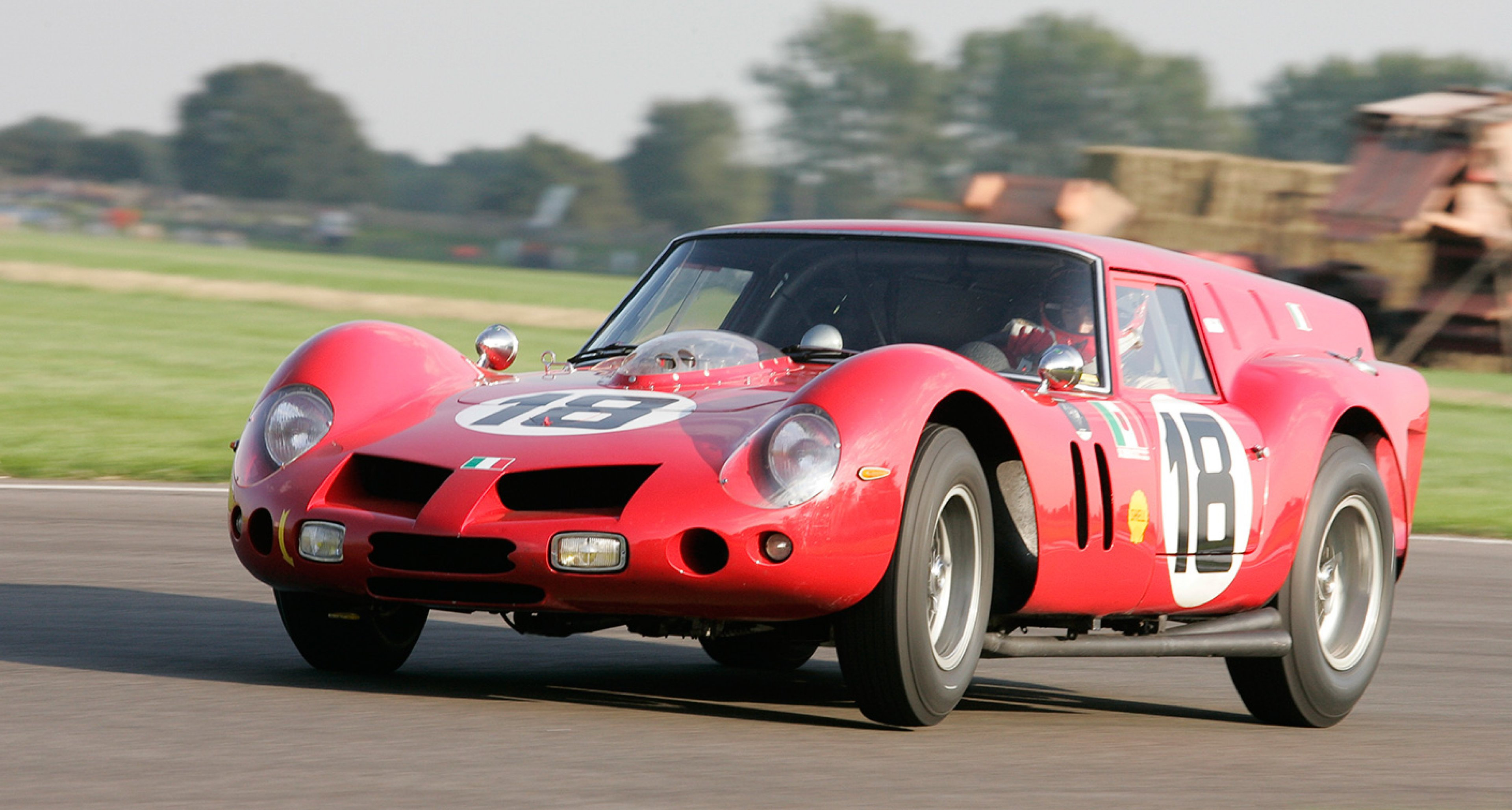 The famous Drogo-bodied Ferrari 250GT SWB 'Breadvan'