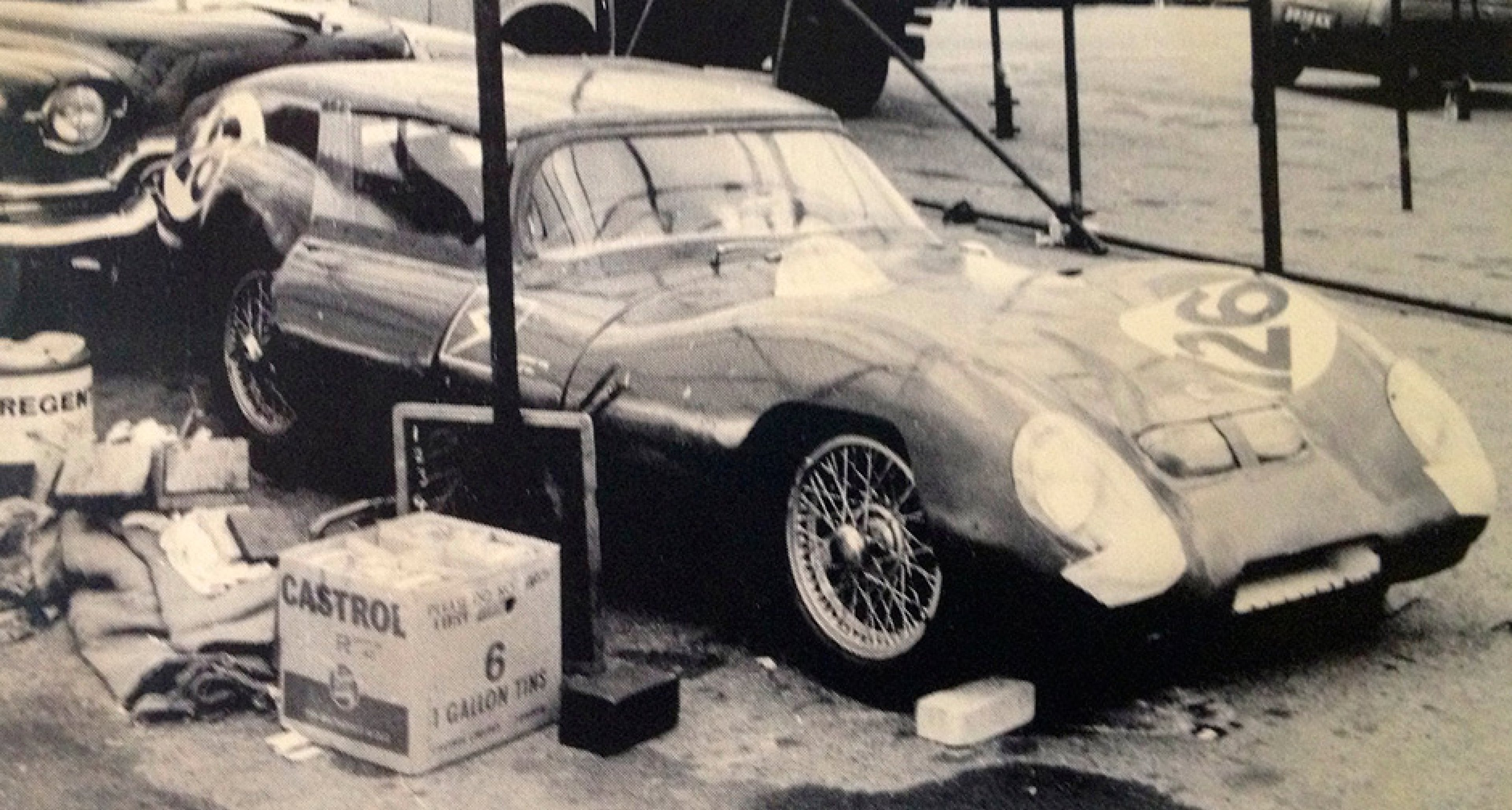 The unique Lotus Eleven 'Breadvan' in the 1960s