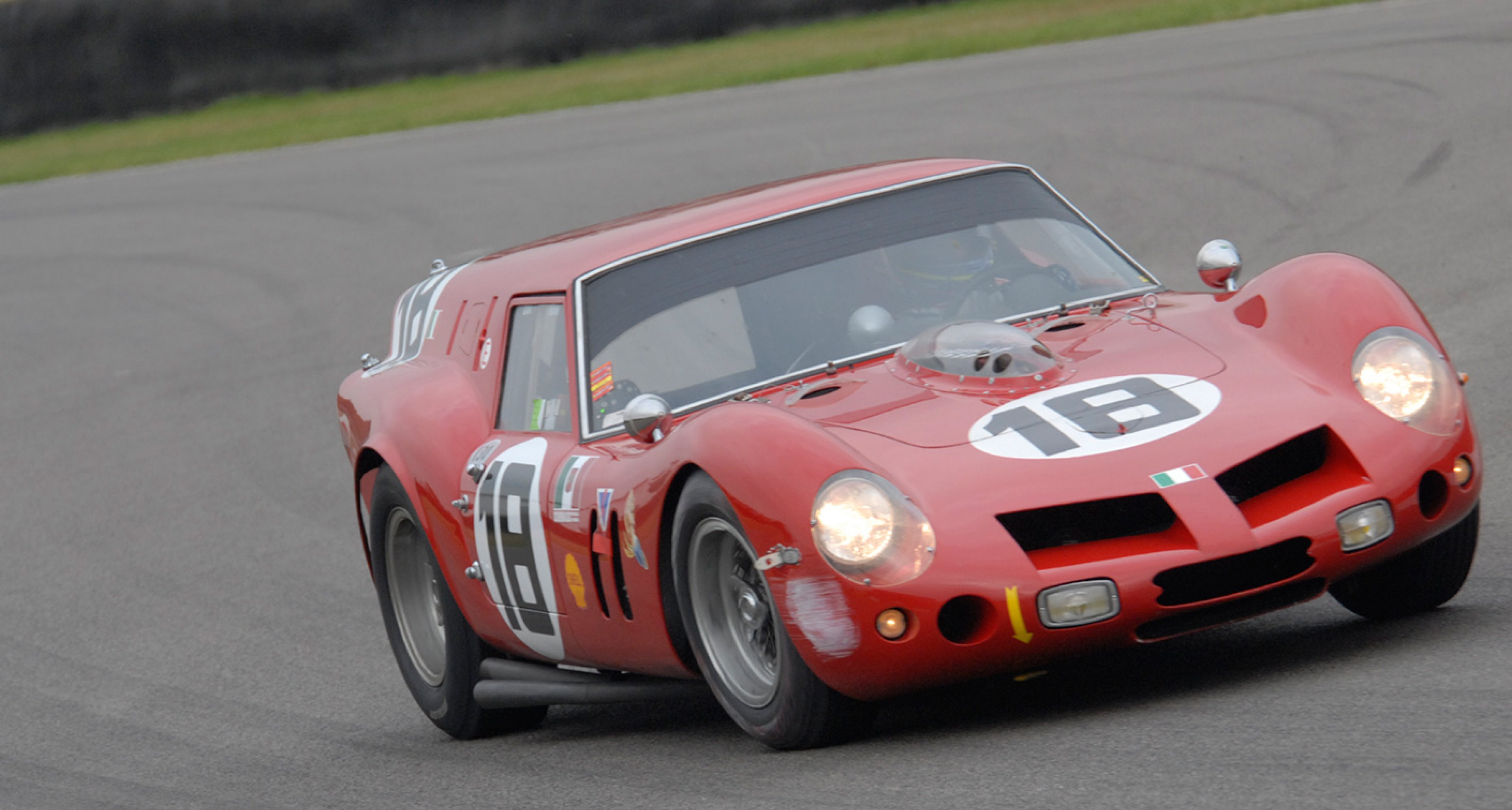 The Ferrari 'Breadvan' will meet its Lotus protégé at Goodwood this year