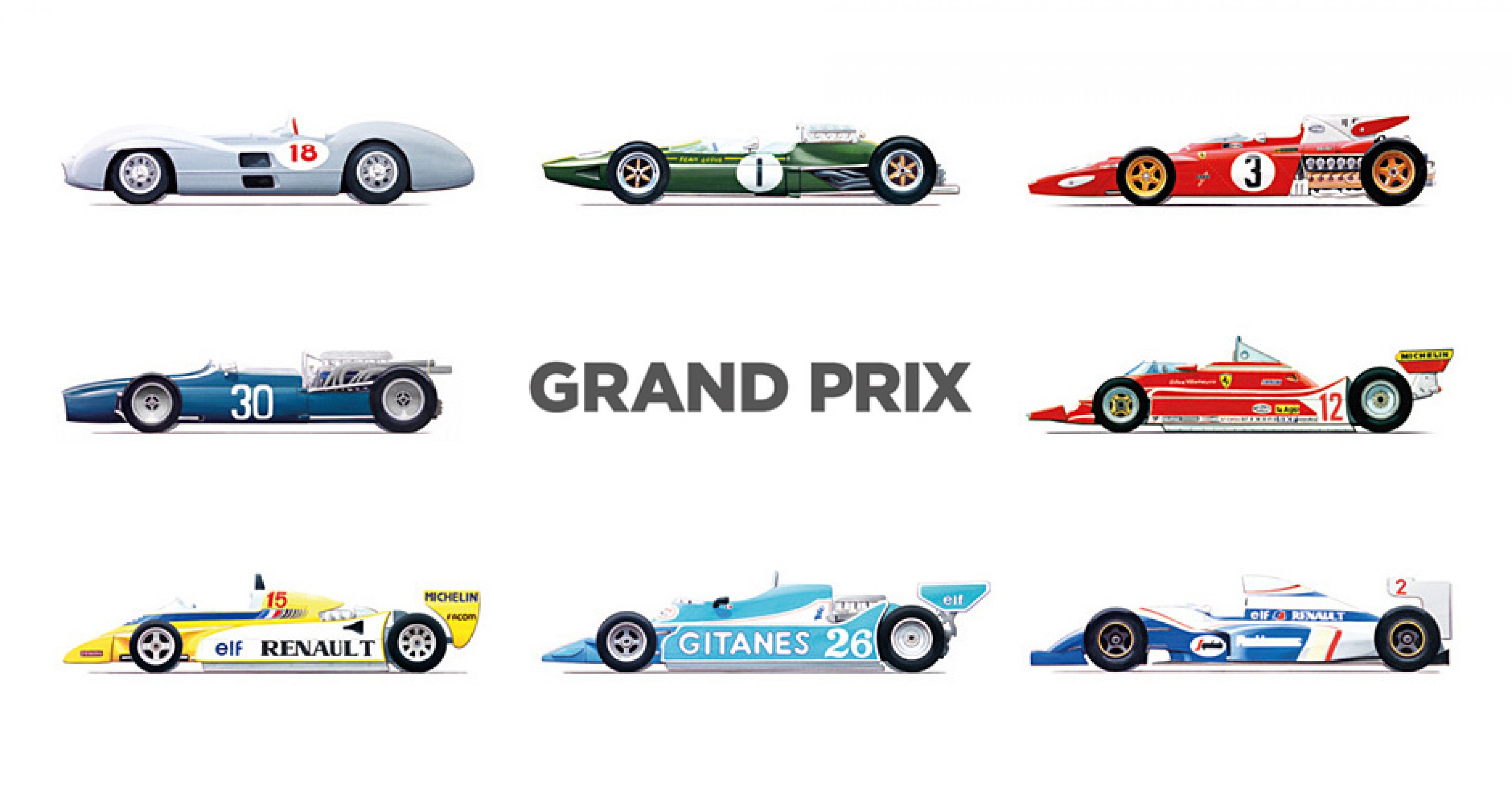 Grand Prix – The Formula One World Championship Single-Seaters