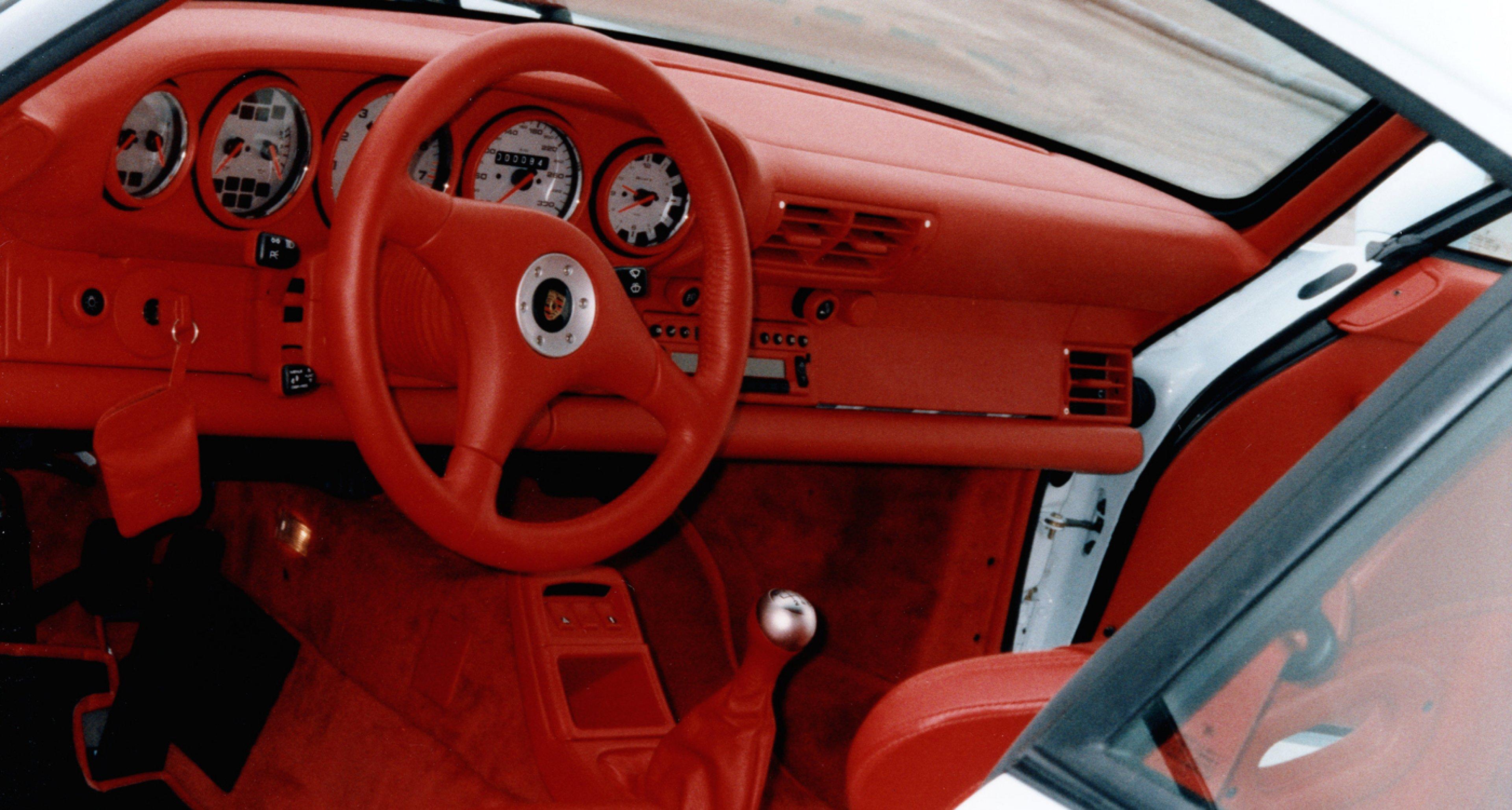 A 1996 Porsche 911 GT2 street version.