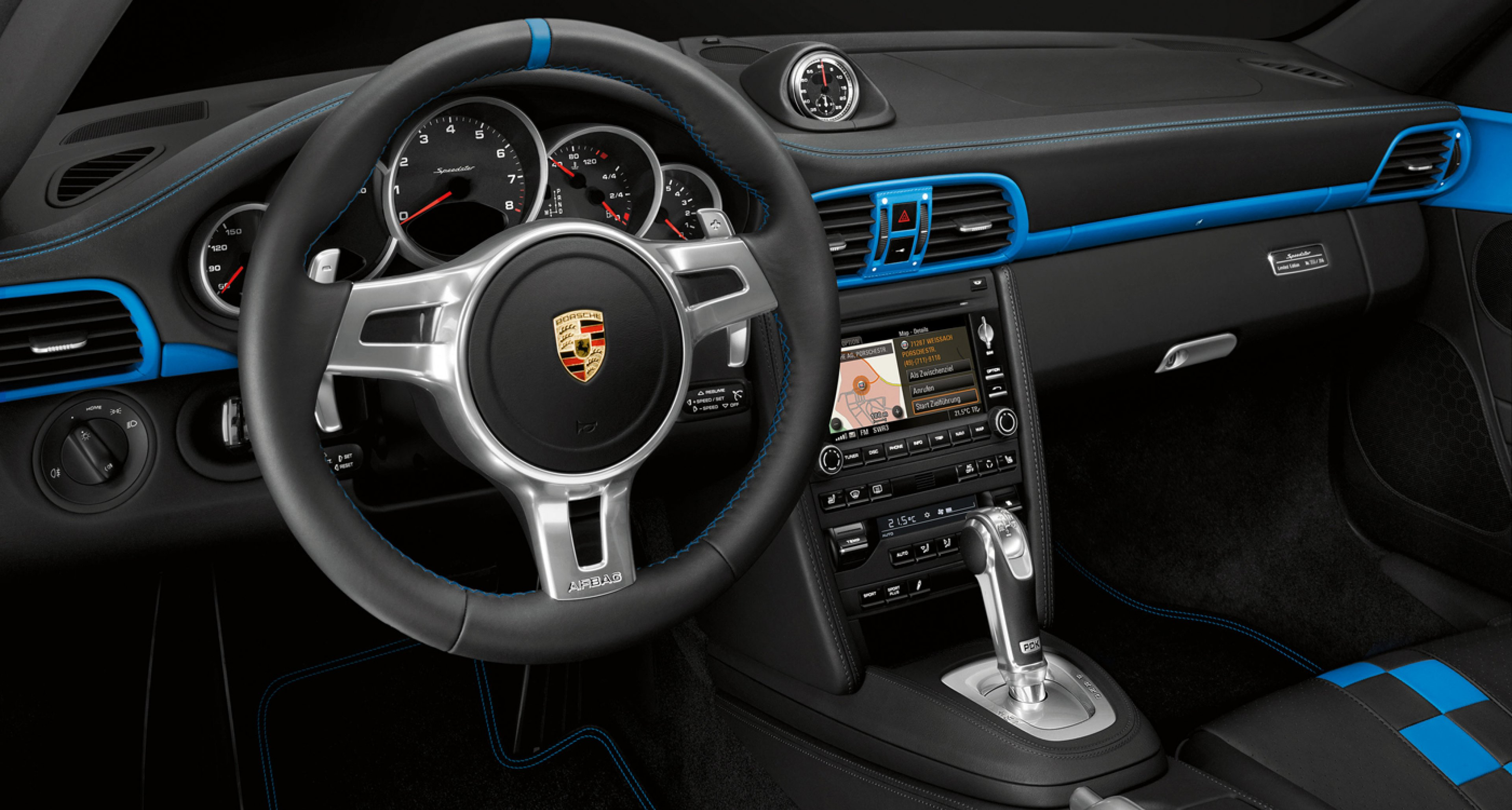 The 2011 Porsche 911 Speedster.