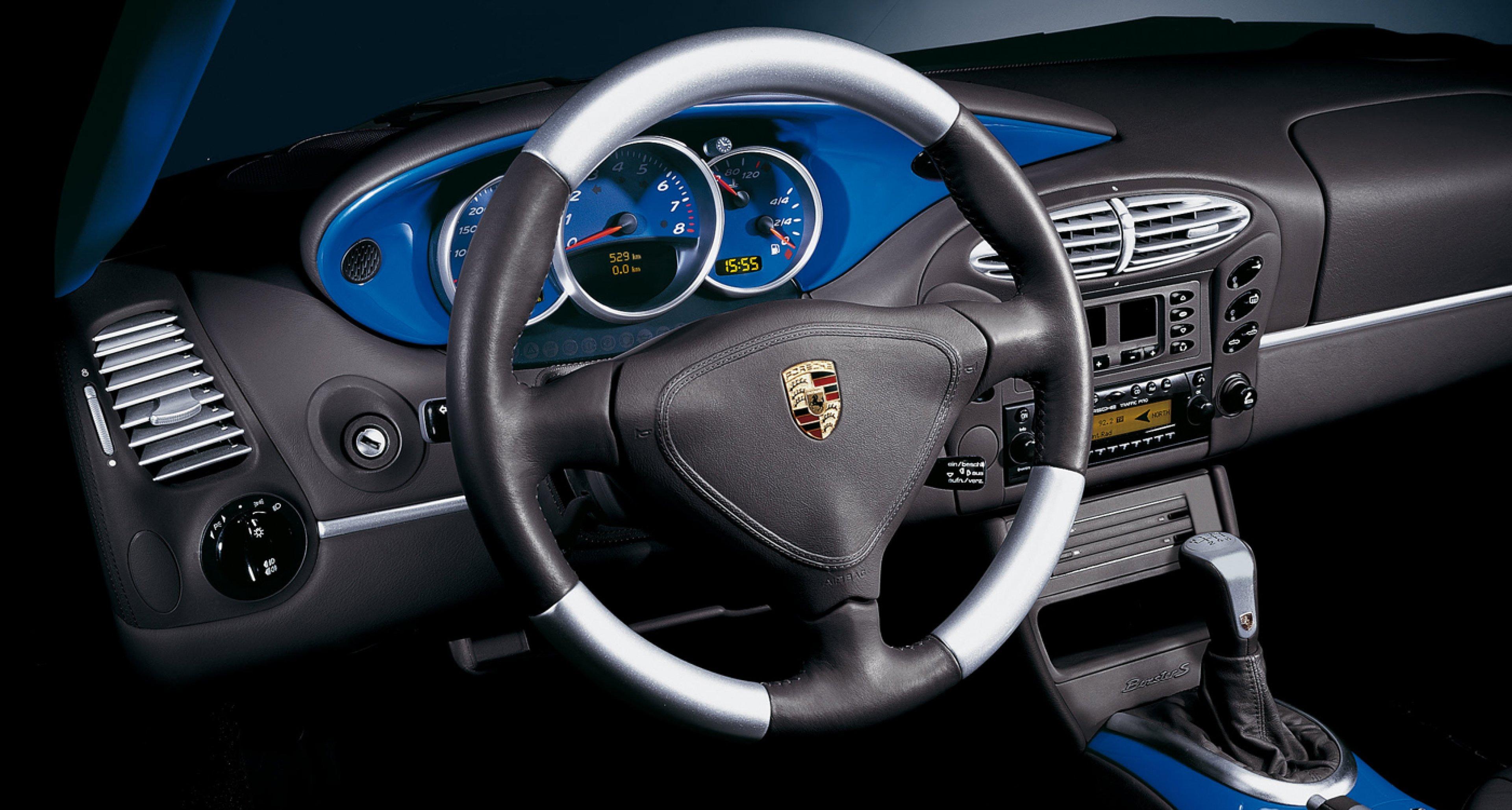 2002 Porsche 986 Boxster S with interior by 'Porsche Exclusive'.