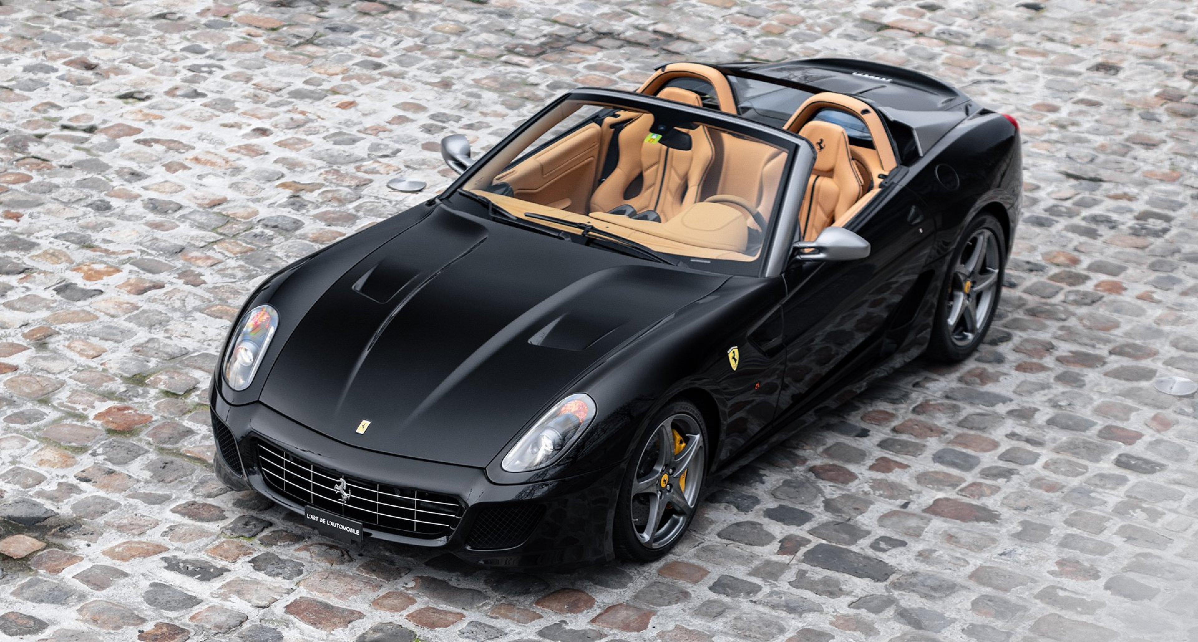 A Ferrari 599 Sa Aperta To Make Collectors Tremble Classic Driver Magazine