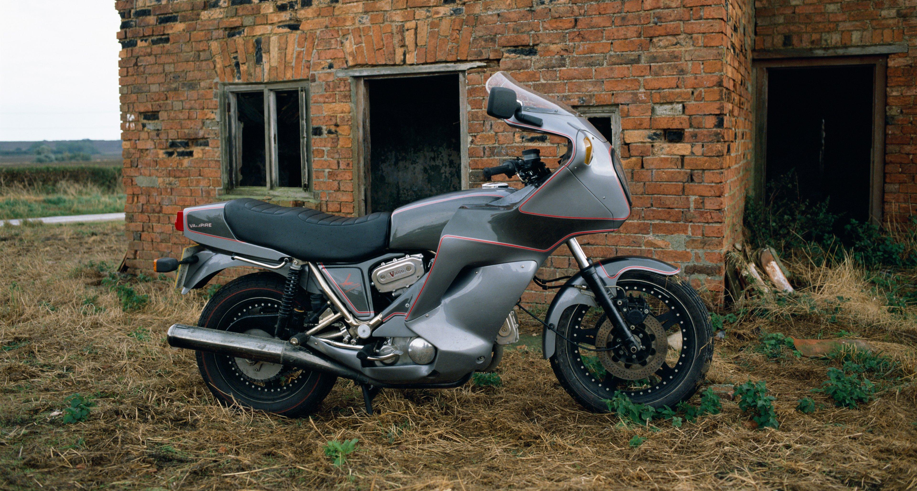 A Hesketh Motorcycles V1000 Vampire