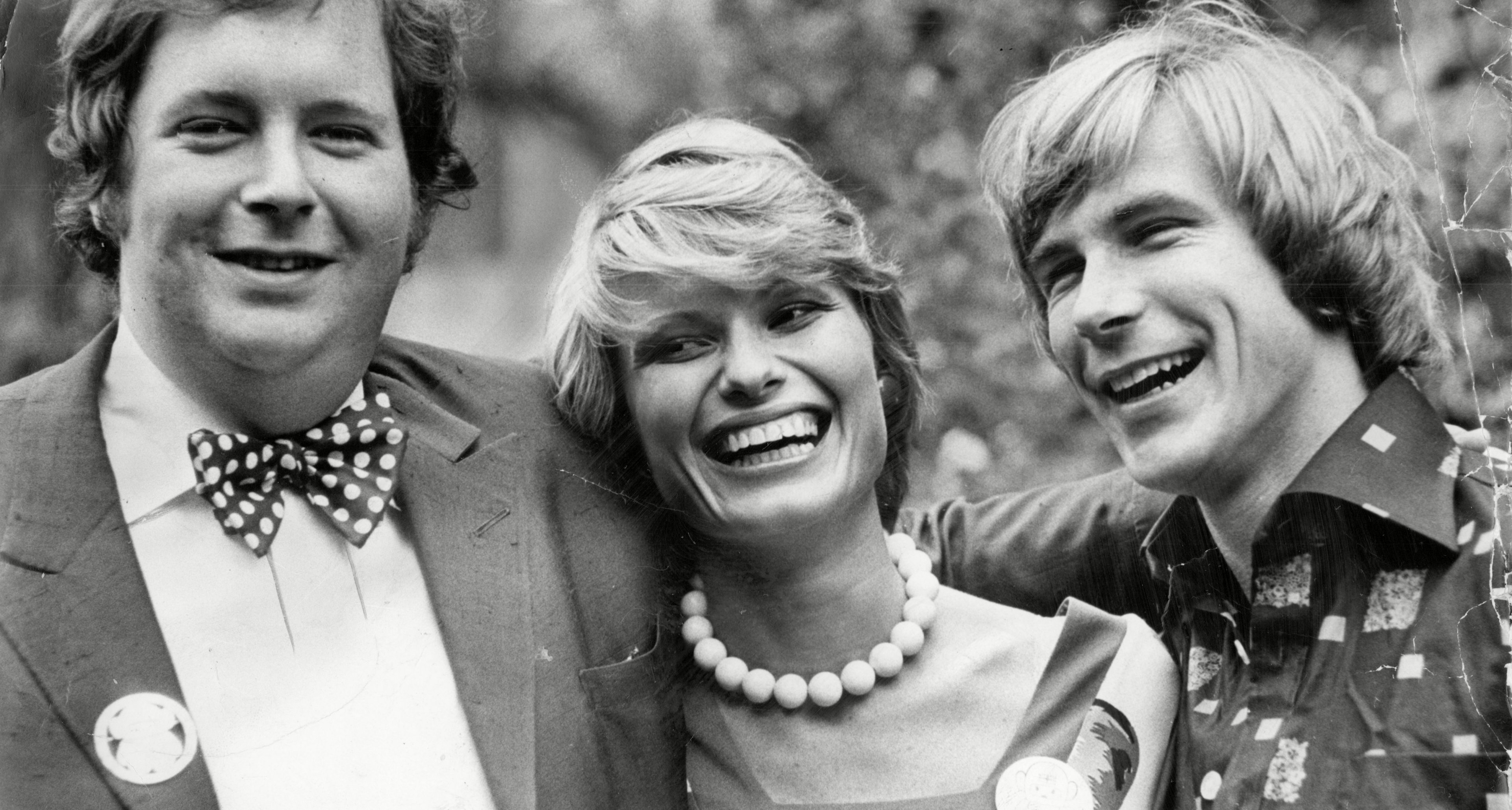 Lord Hesketh, Susy Miller and James Hunt