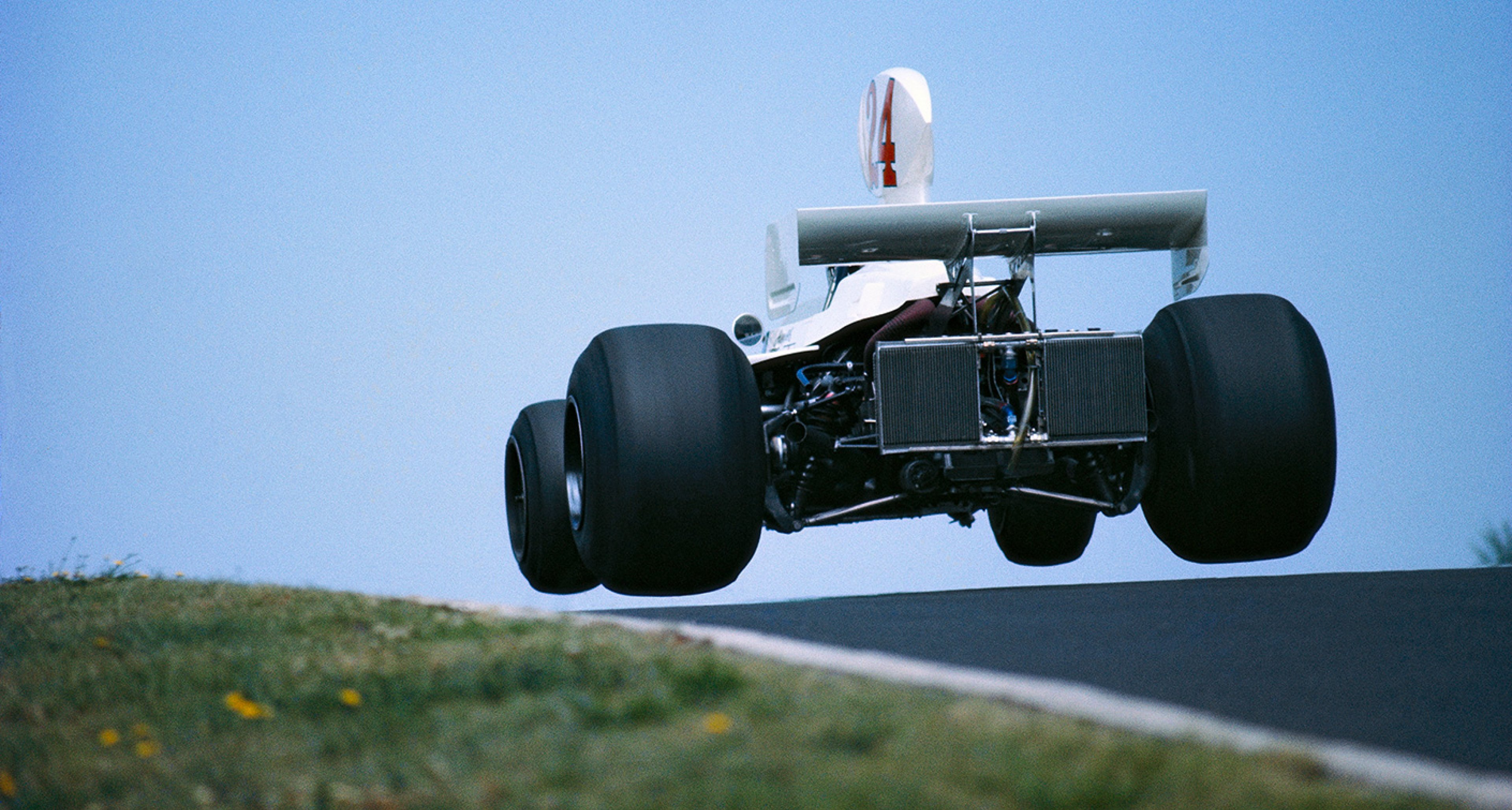 James Hunt, airborne