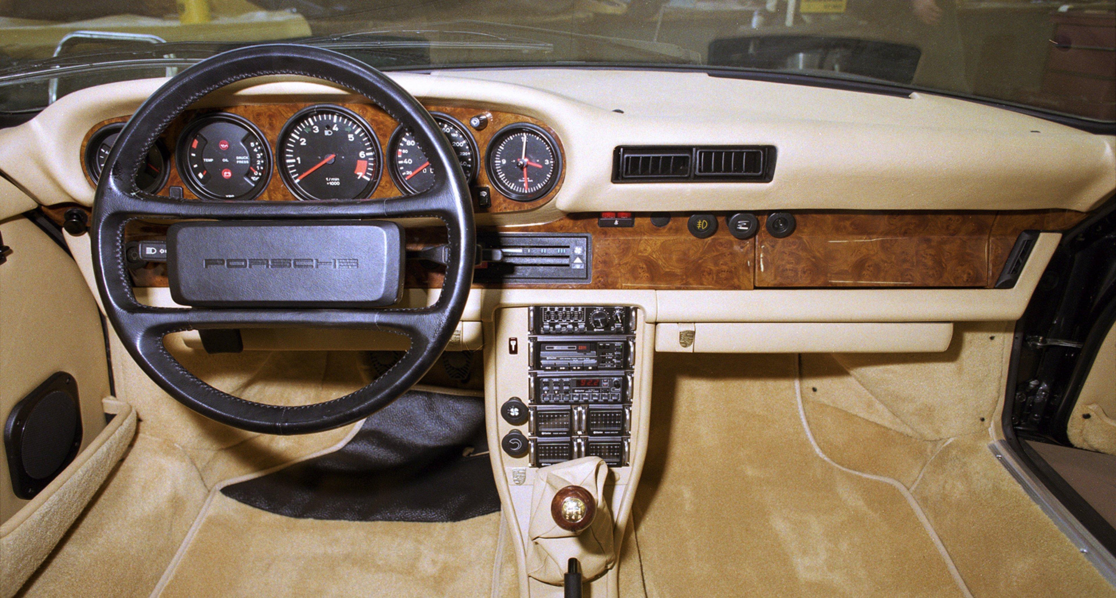 A 1985 Porsche 911.