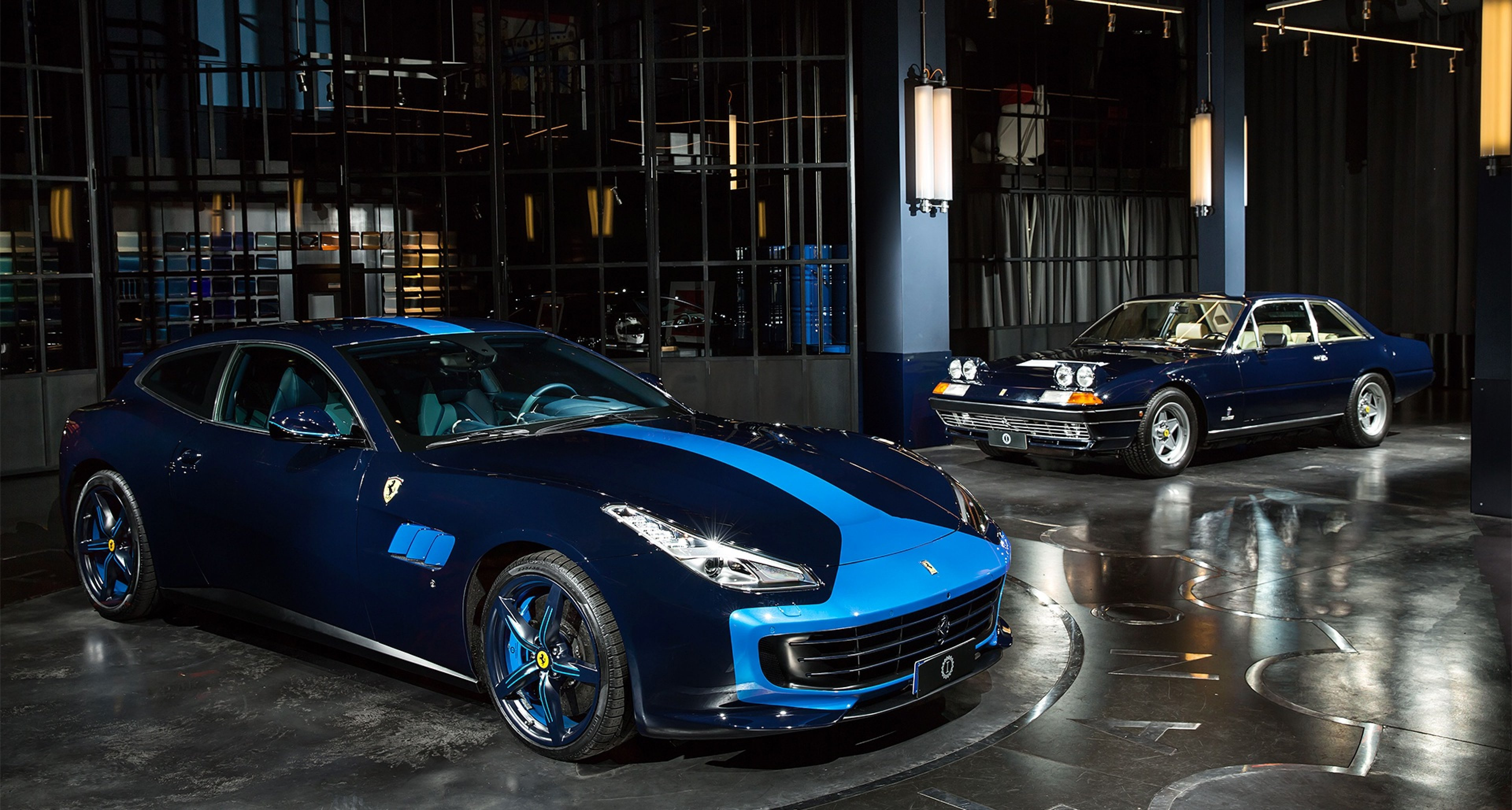 Garage Italia Customs Ferrari Gtc4 Lusso Ist Ein Blaues Wunder Classic Driver Magazine