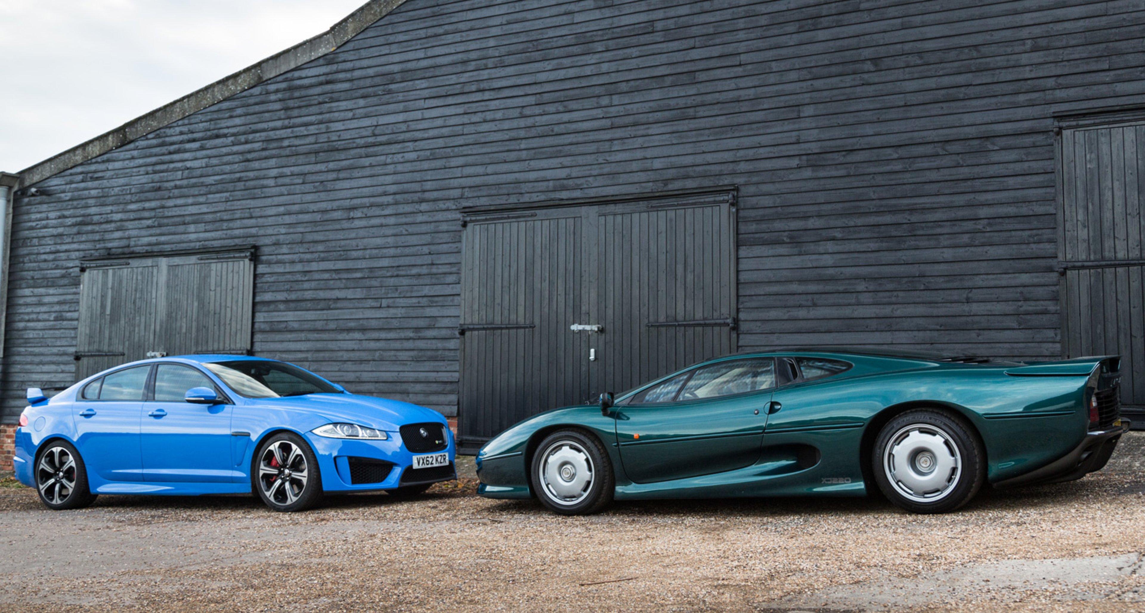 Jaguar XFR-S meets XJ220