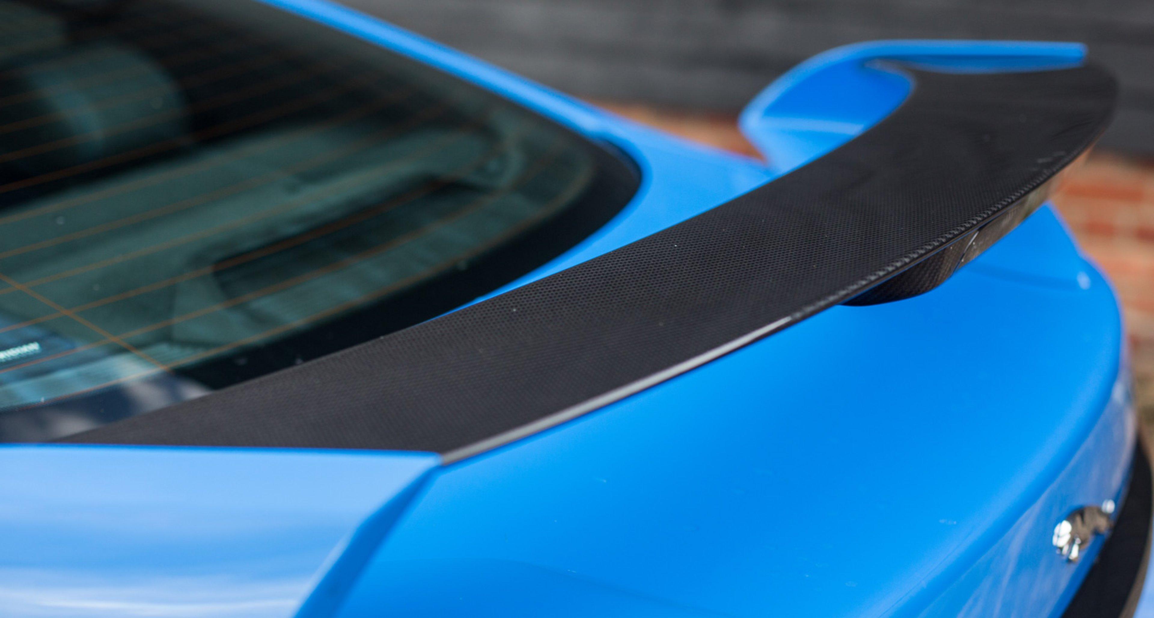 Jaguar XFR-S carbonfibre wing