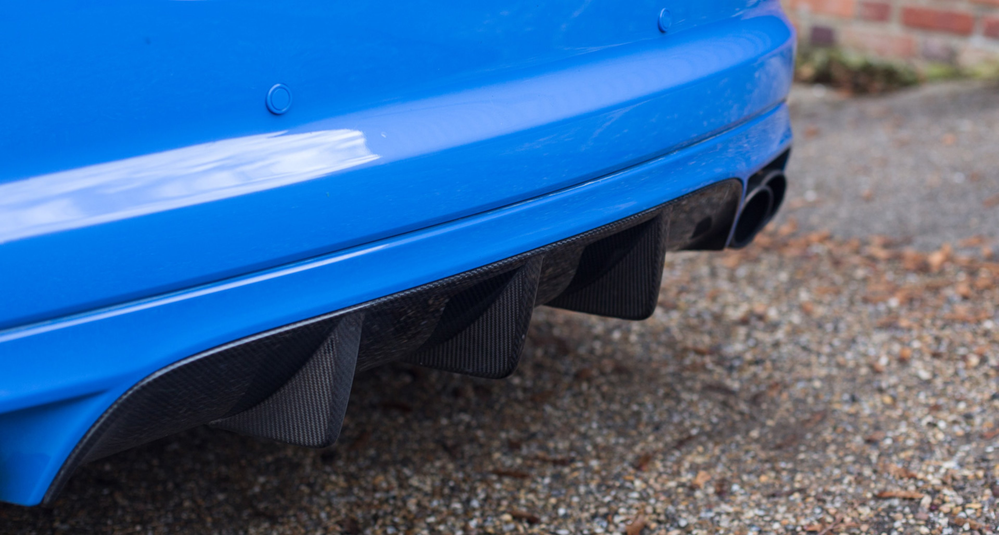 Jaguar XFR-S rear diffuser