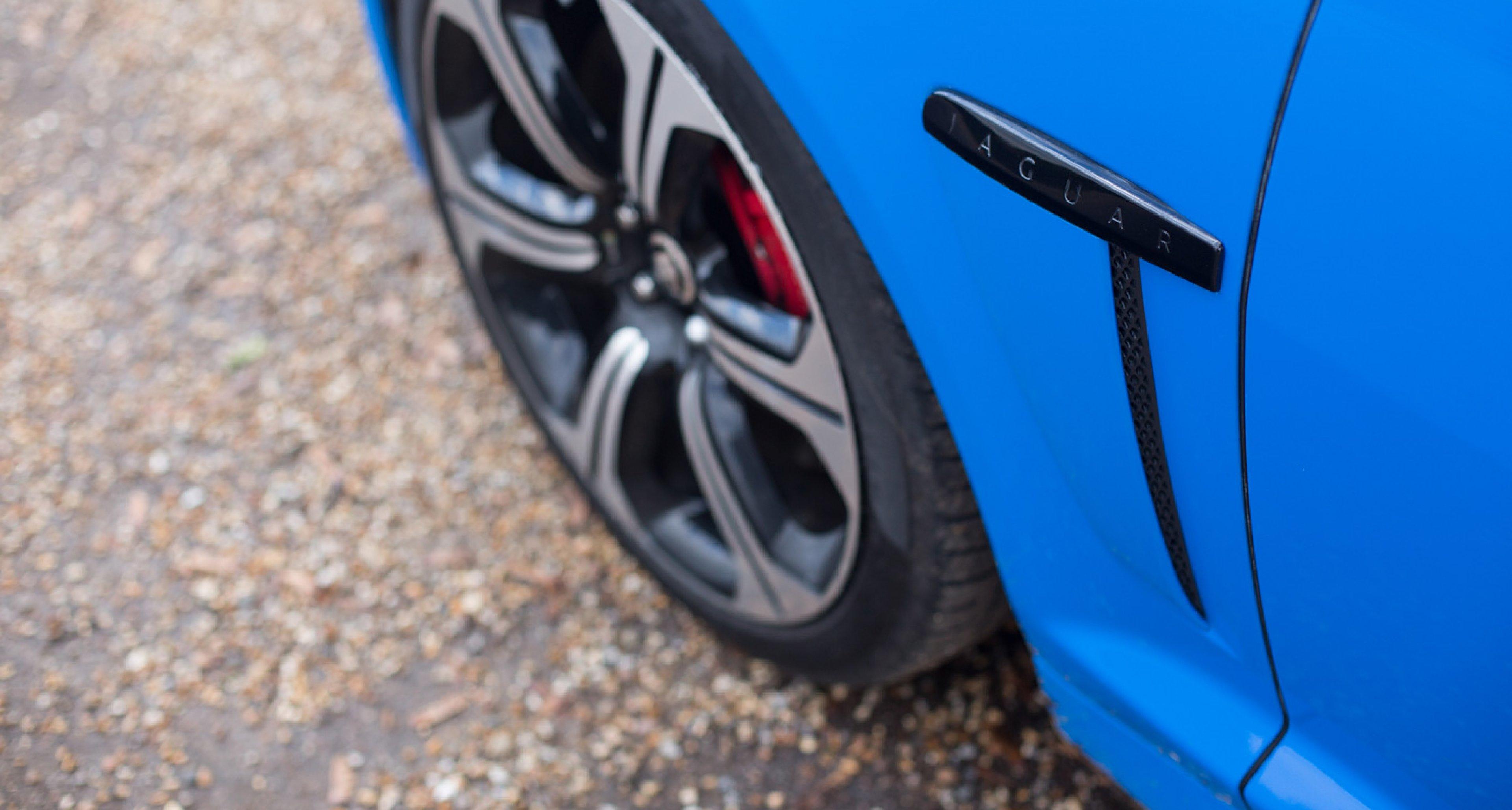 Jaguar XFR-S aero blade