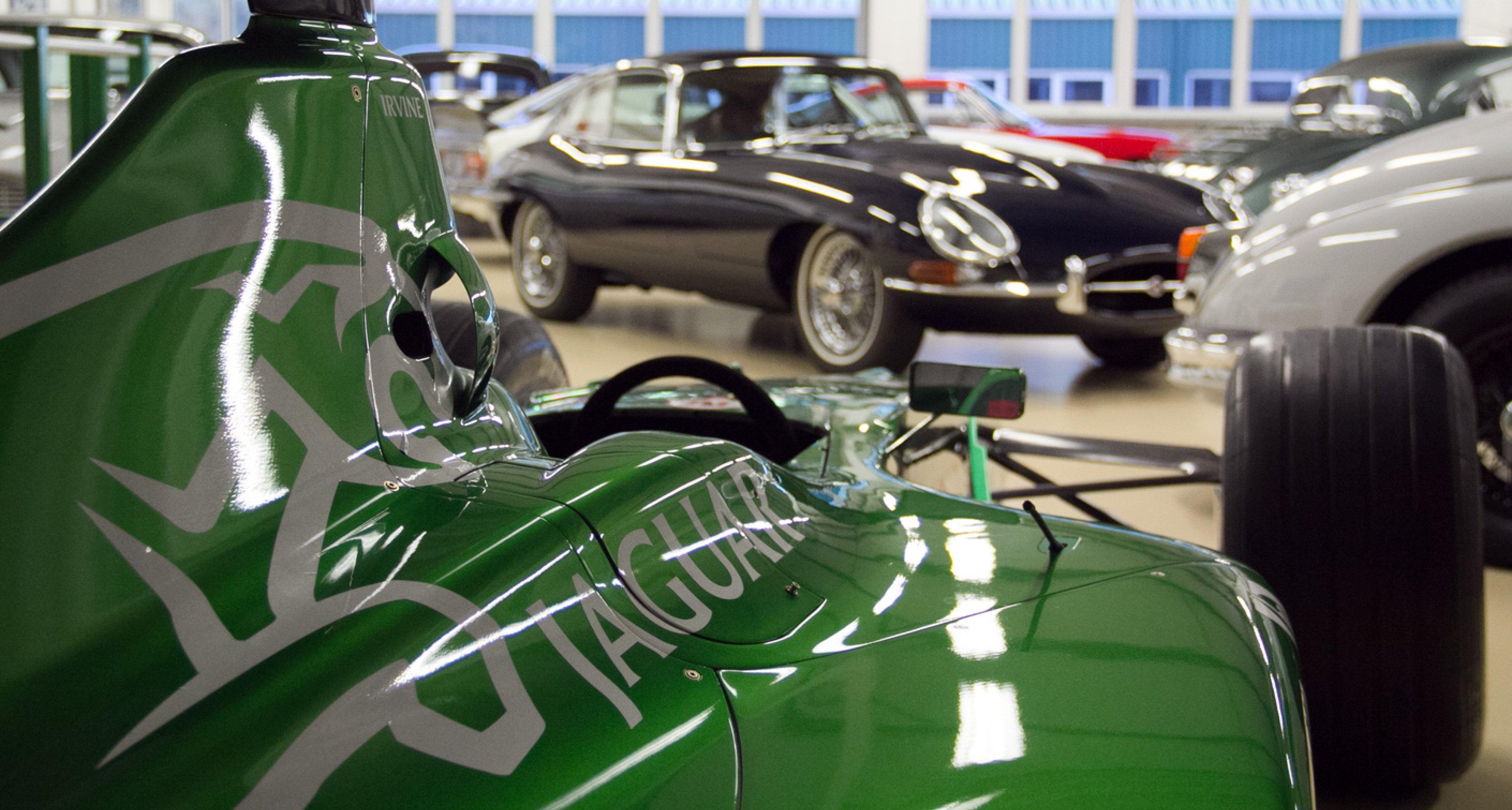 Jaguar F1 meets E-type
