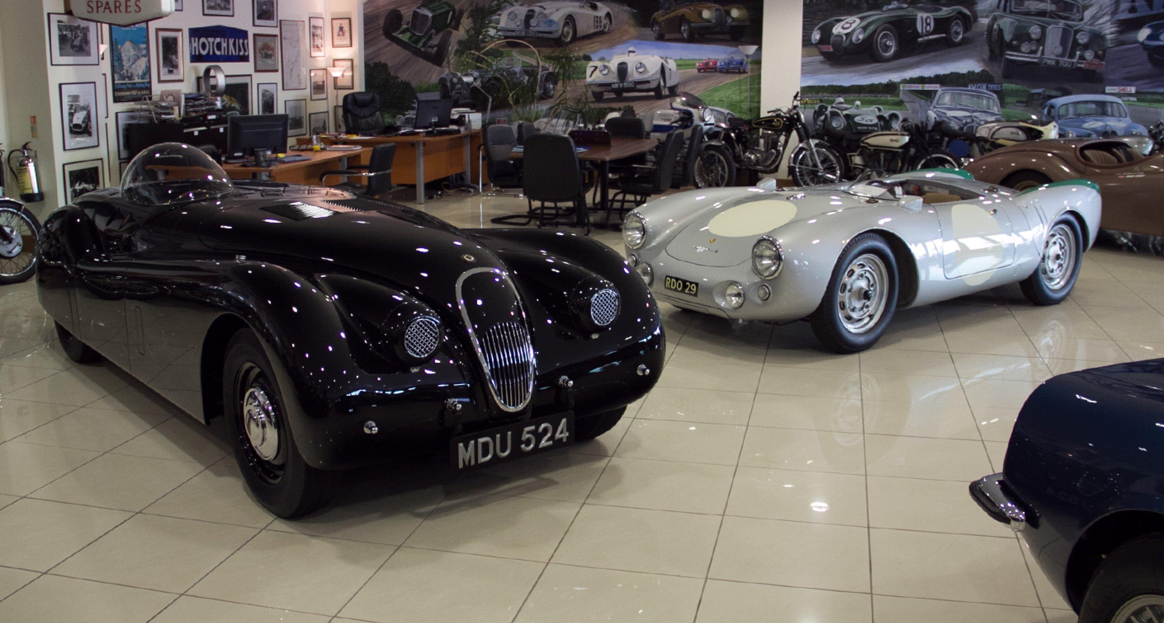 JD Classics showroom