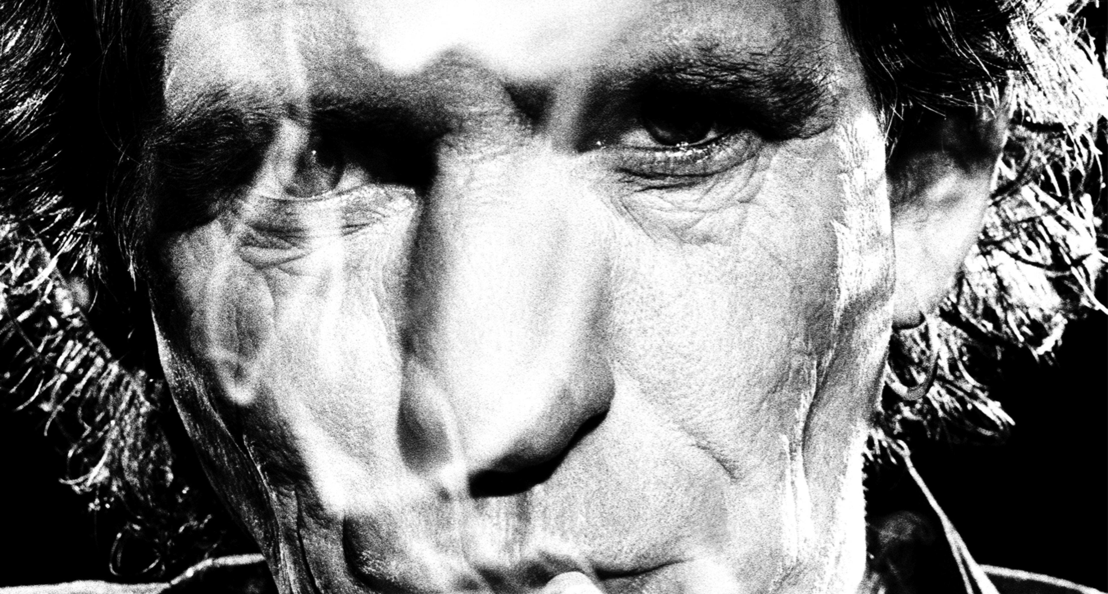 Keith Richards und sein liebstes Hobby - Rauchen