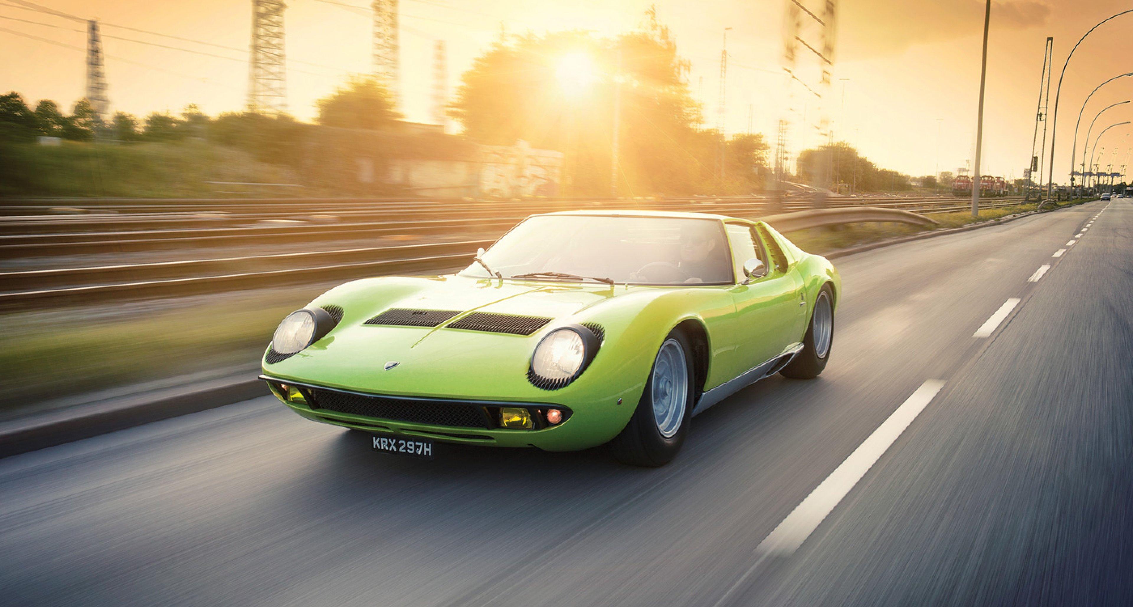 Timeless Classics Lamborghini Miura P400 Classic Driver Magazine