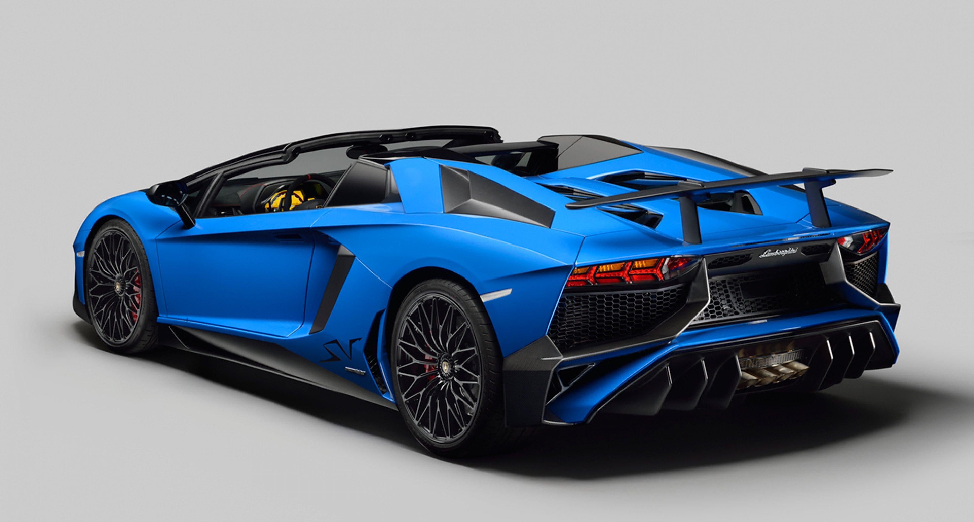 Topless At 217mph U2013 The New Lamborghini Aventador SV Roadster | Classic  Driver Magazine