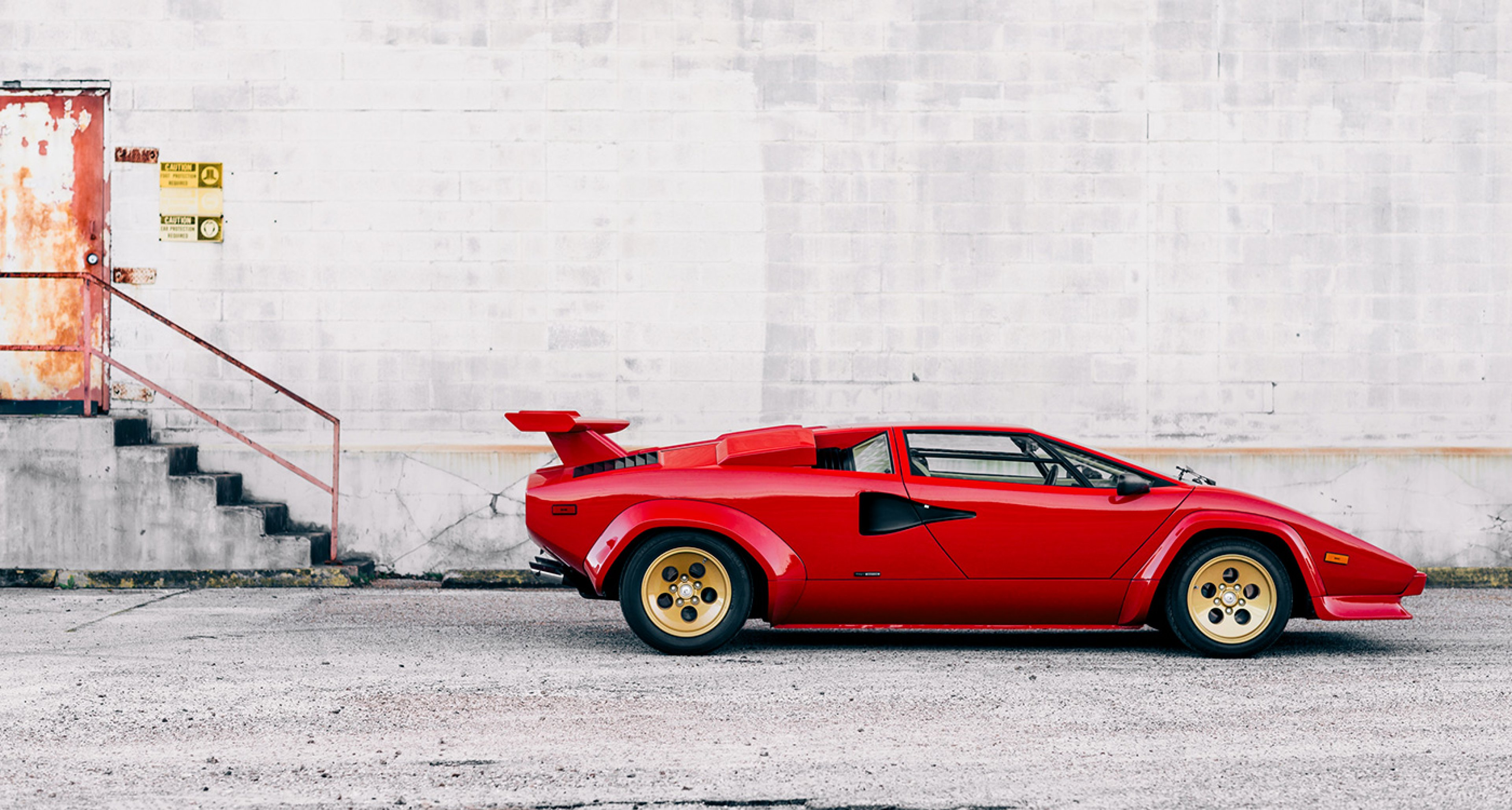 This Lamborghini Countach Stole The Show Classic Driver Magazine