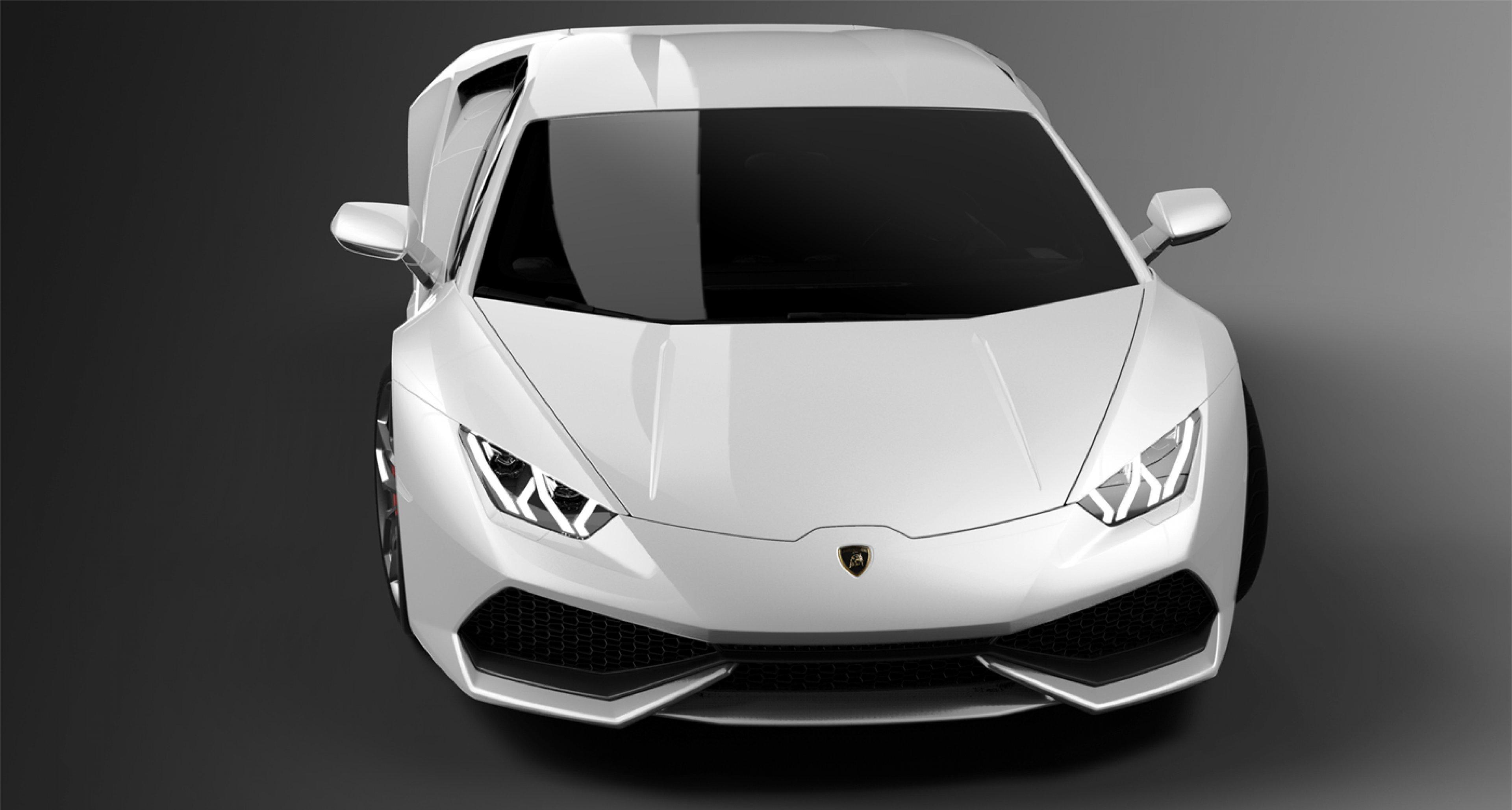 The new Lamborghini Huracán LP 610-4.