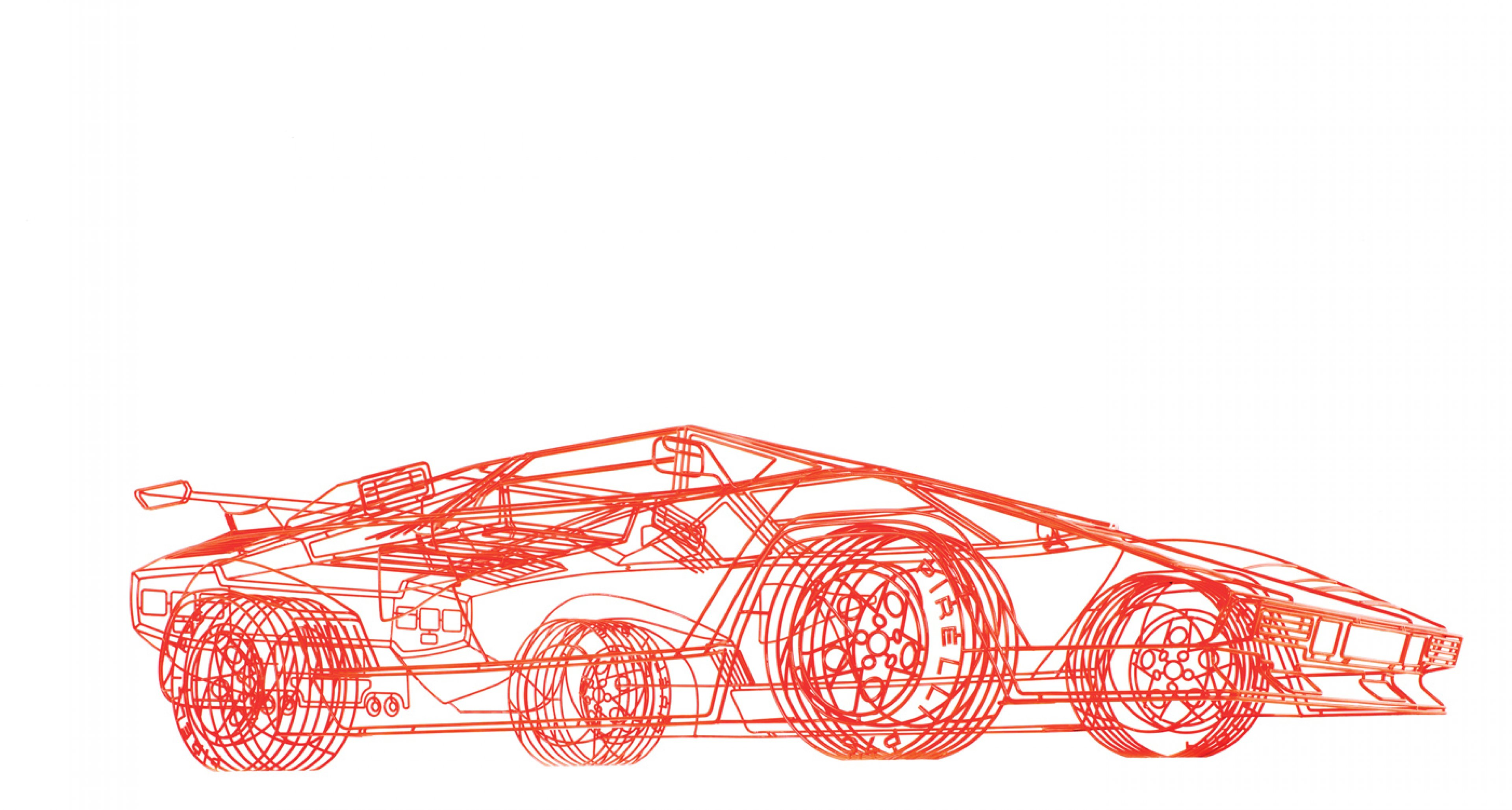 Lamborghini 'Koenig' Countach by Benedict Radcliffe