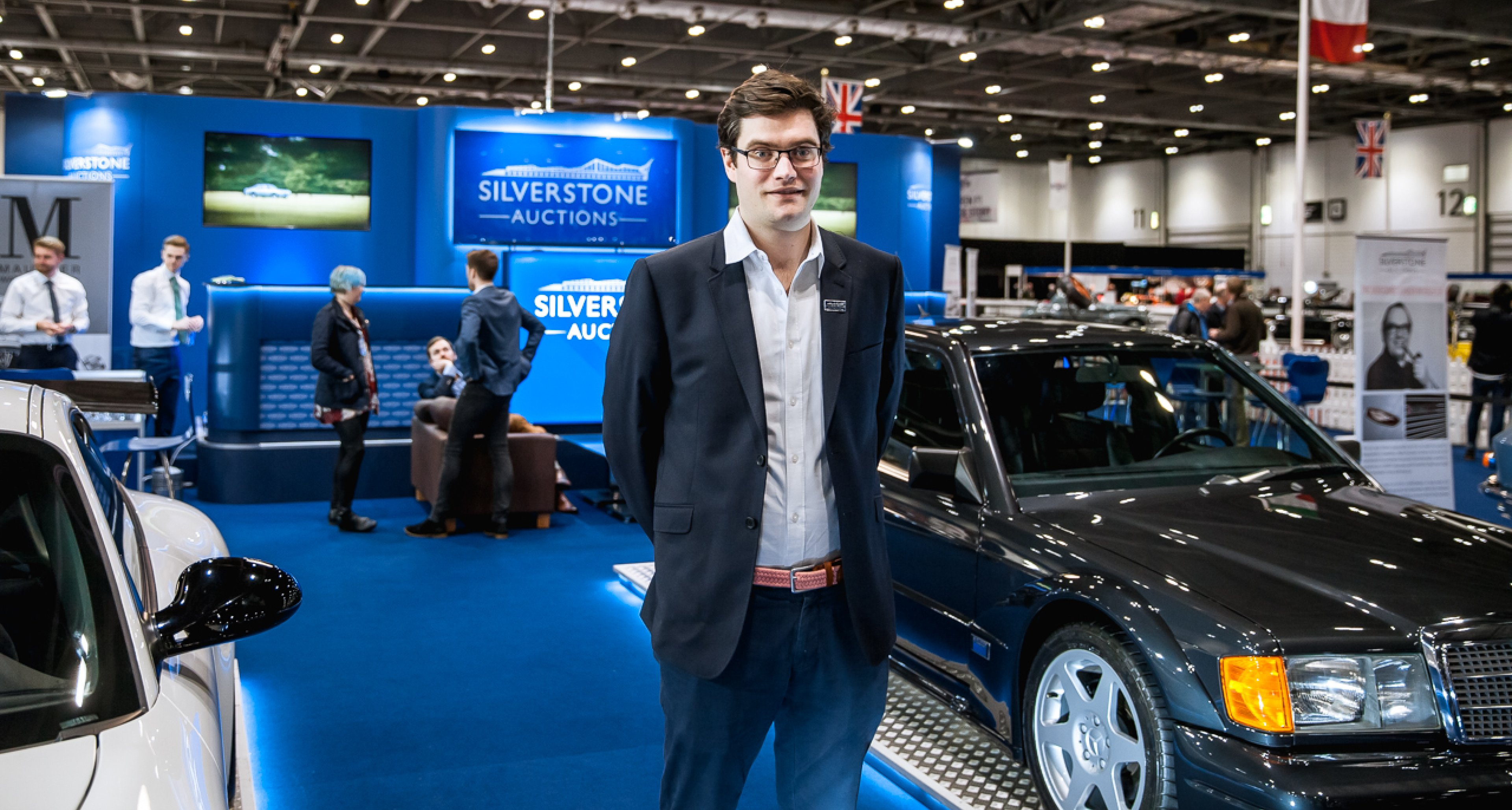 Harry Whale, Operations Manager & Classic Car Specialist at Silverstone Auctions