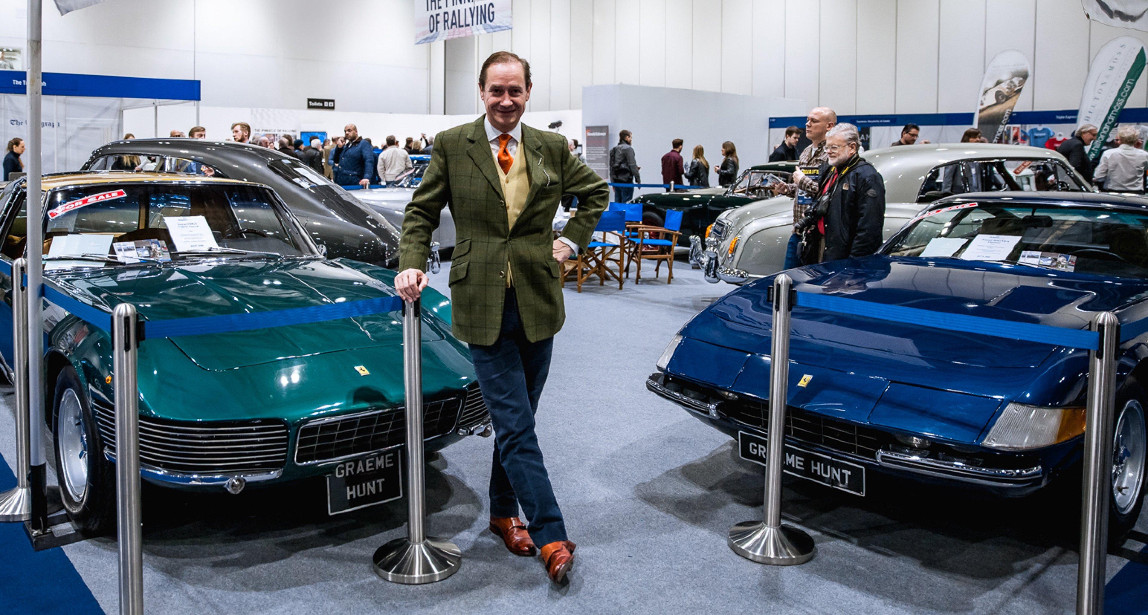 Graeme Hunt of Graeme Hunt Cars Ltd.