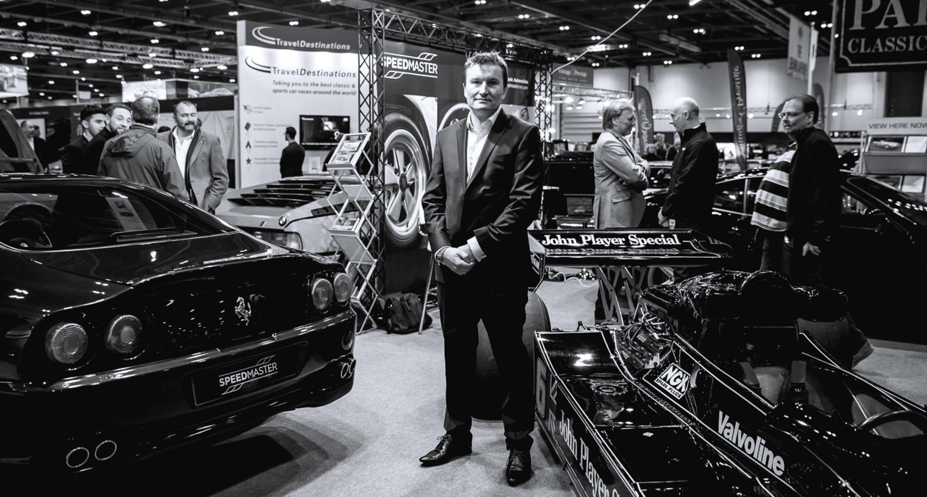 James Hanson of Speedster Cars