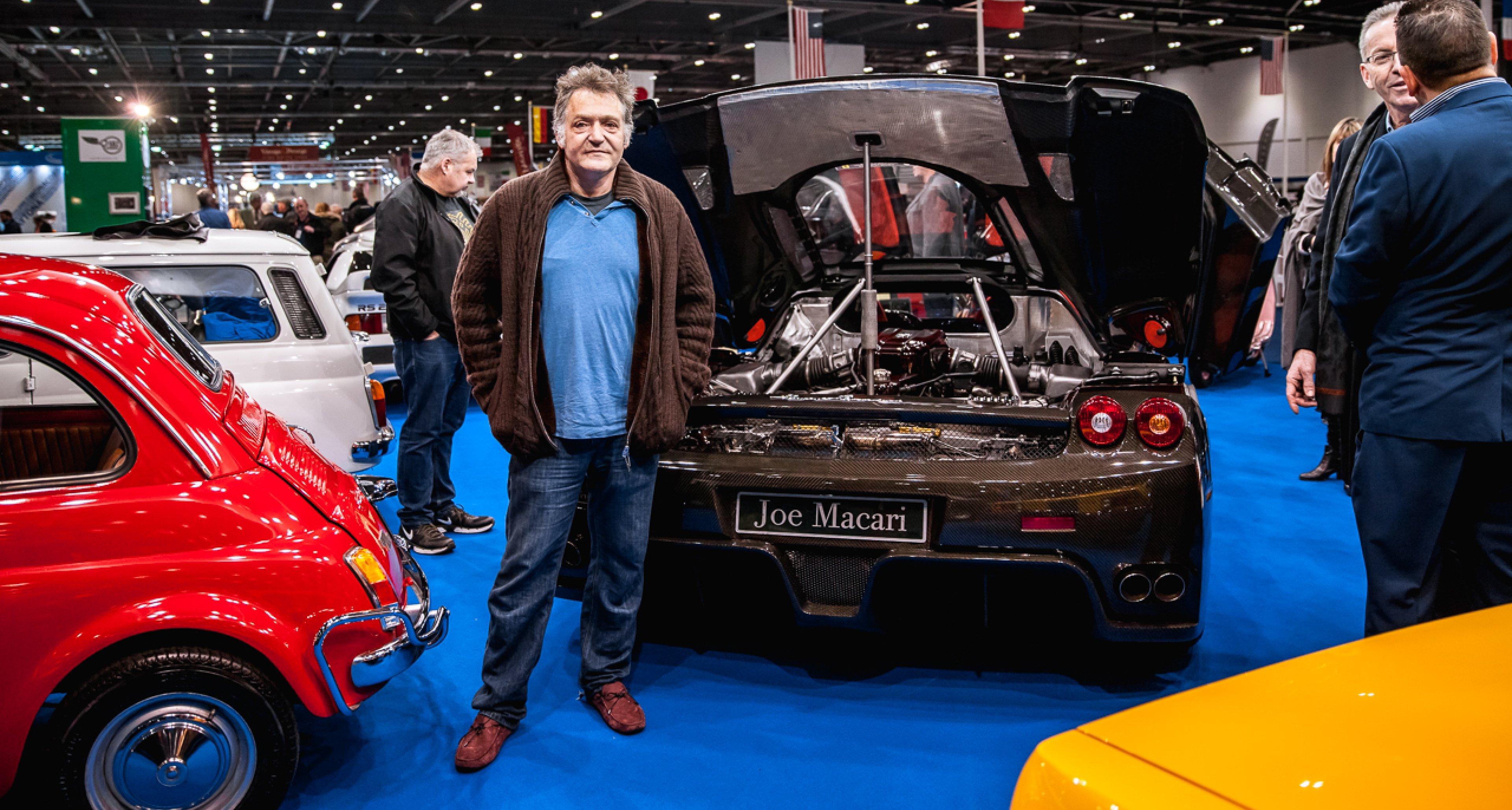 Joe Macari of Joe Macari Performance Cars London