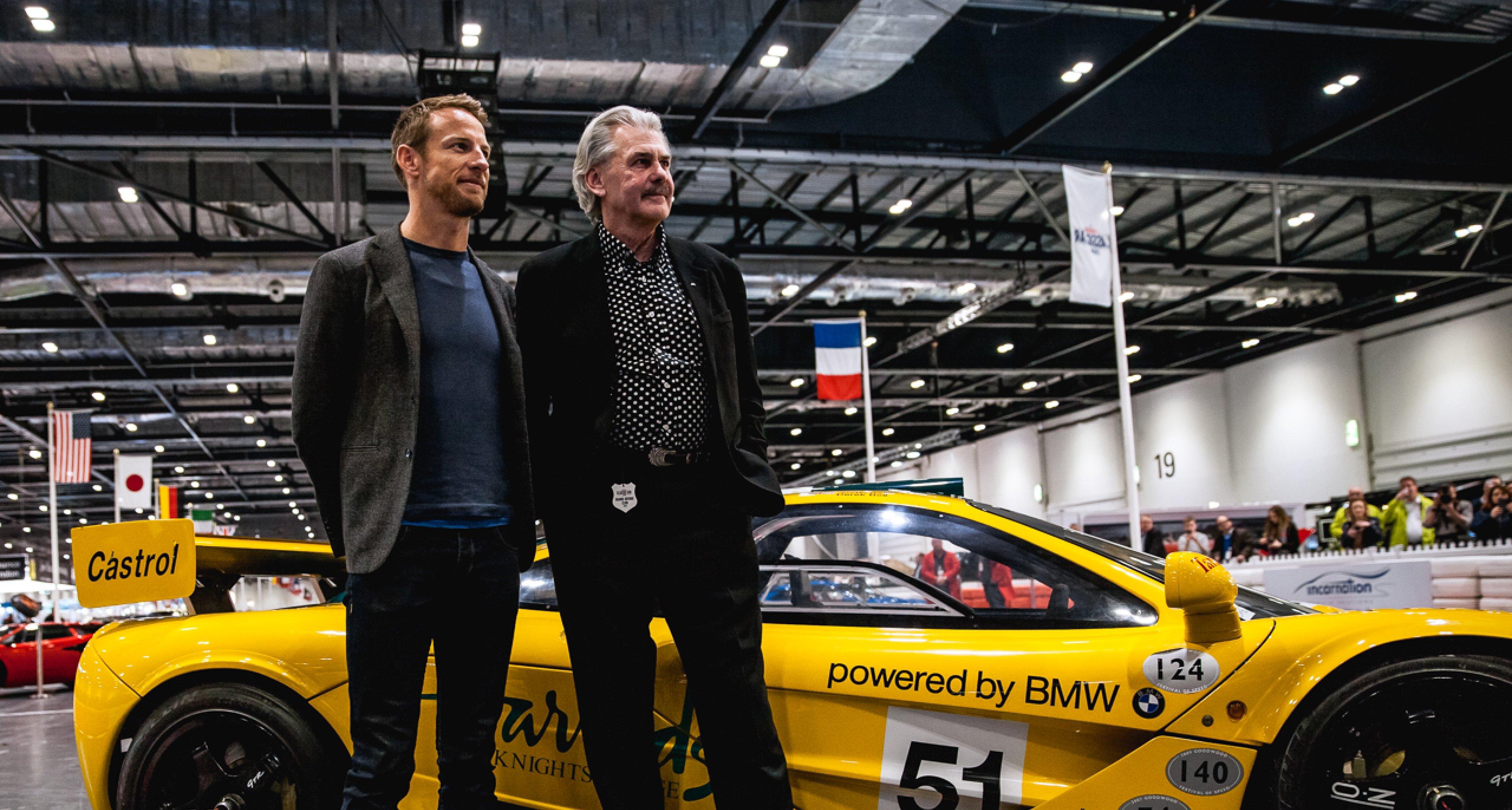 Jenson Button and Gordon Murray