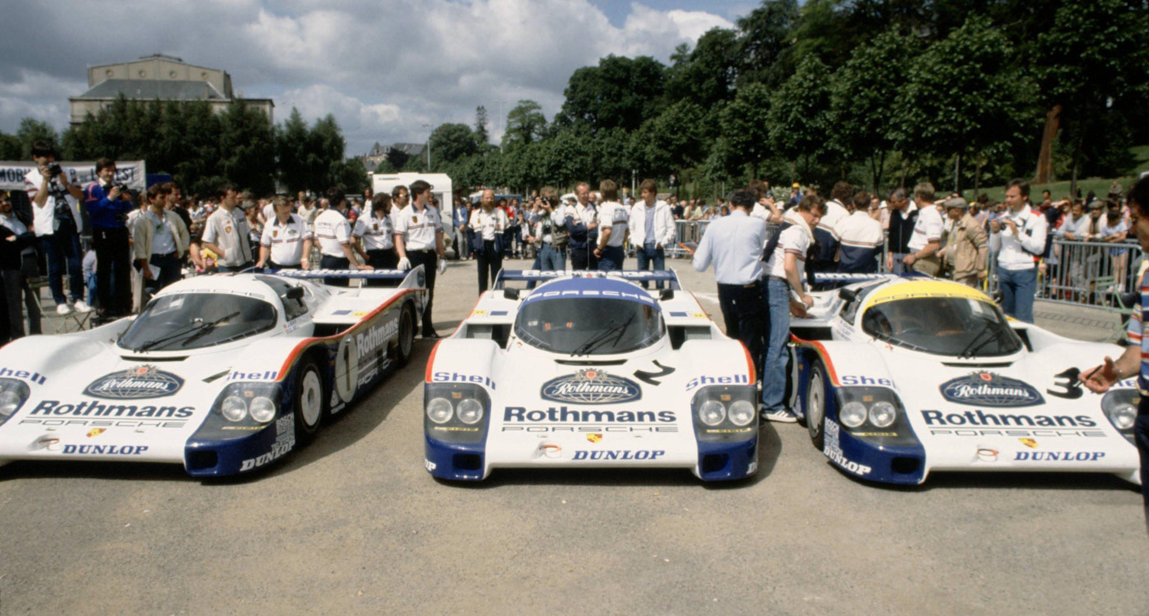 Want To Own A Fleet Of Group C Porsche Le Mans Racers Classic Driver Magazine