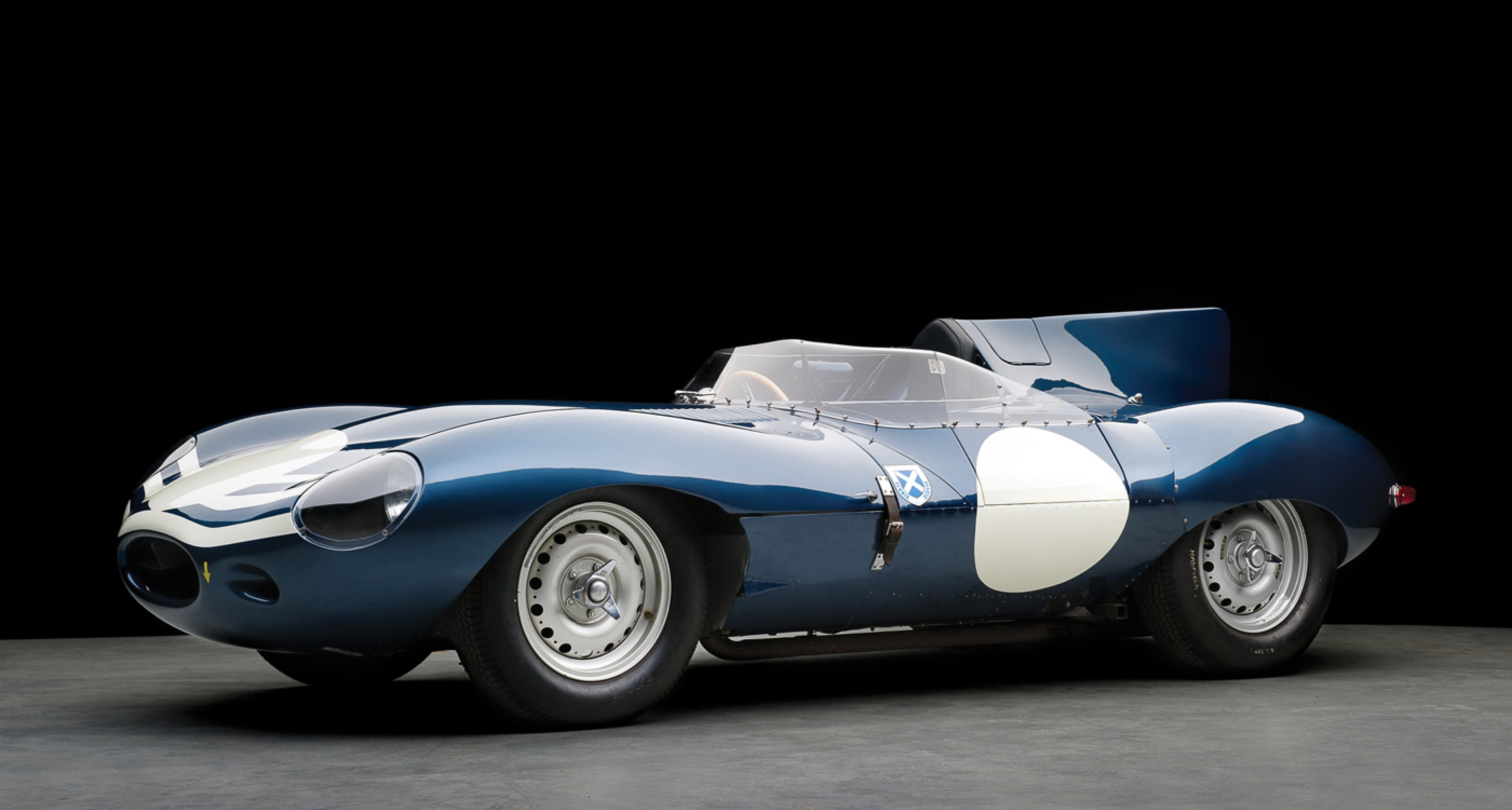 1955 Jaguar D-Type, estimate  GBP 5,500,000 - 6,500,000.