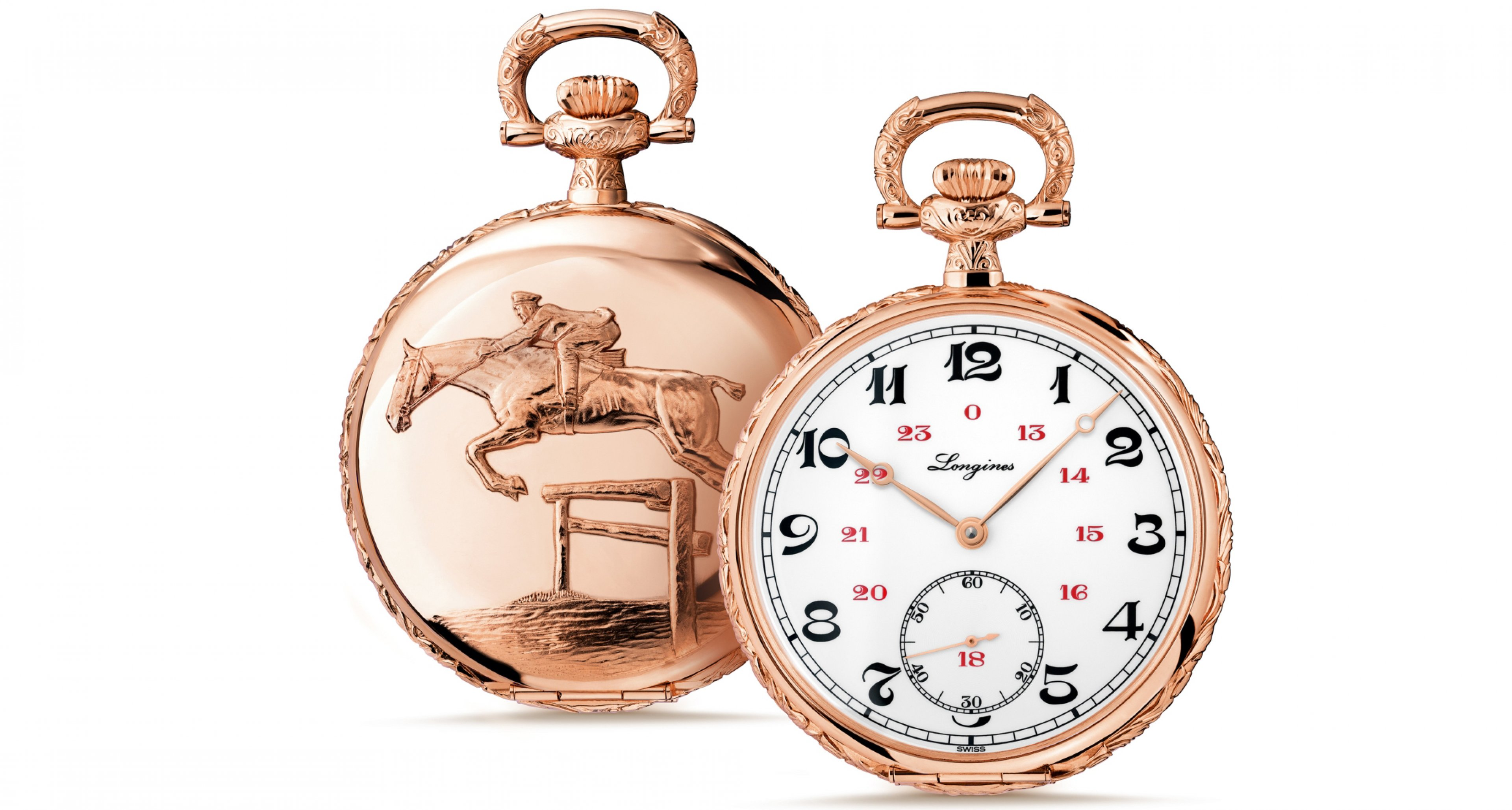 Inspired by a classic pocket watch from the 1920 was this Longines Lepine (26.650.-€)