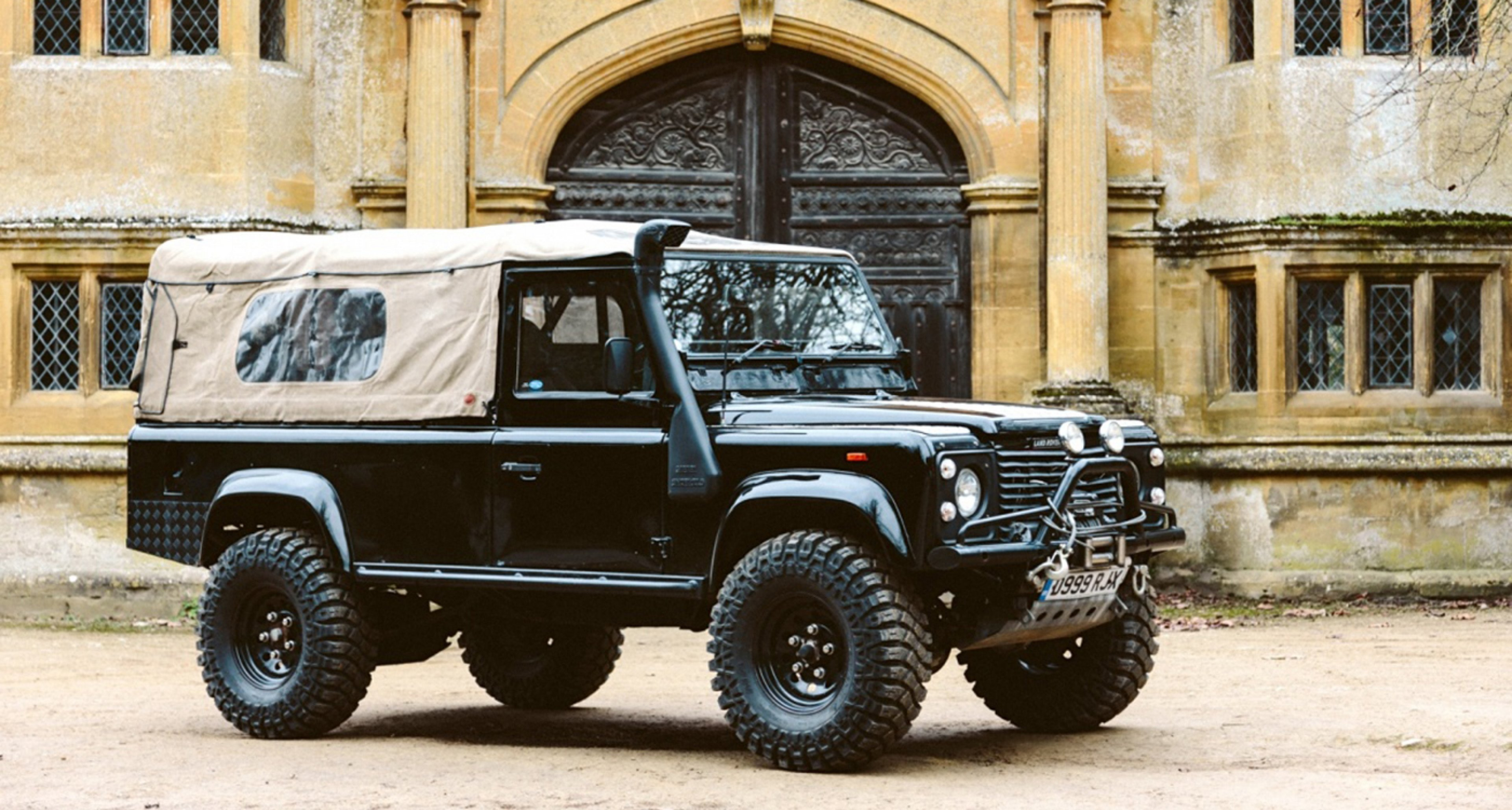 First his bikes – now Richard Hammond's 'Bigfoot' Defender is for