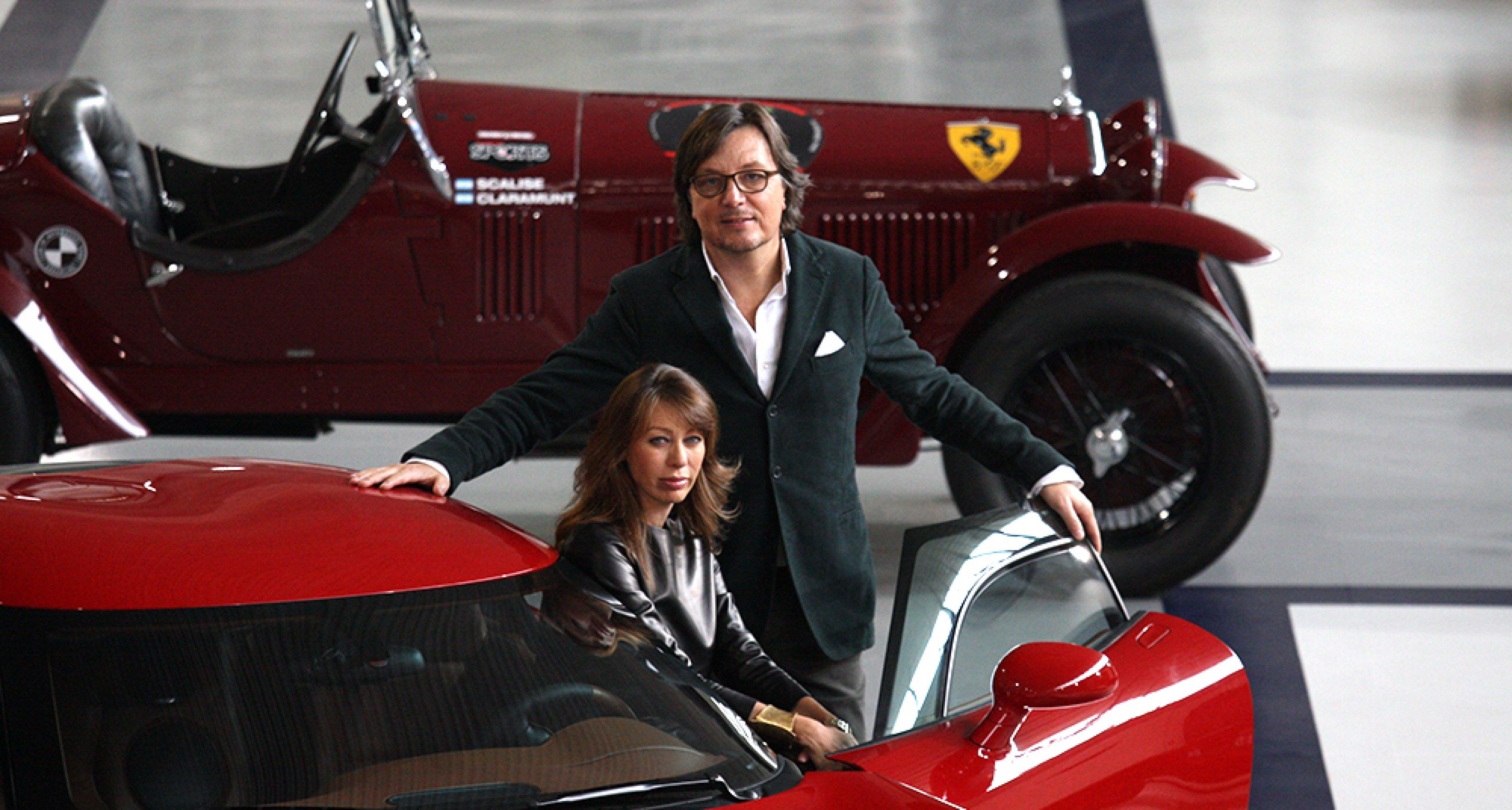 Andrea Zagato and his wive Mirella Rivolta. © Zagato archives.