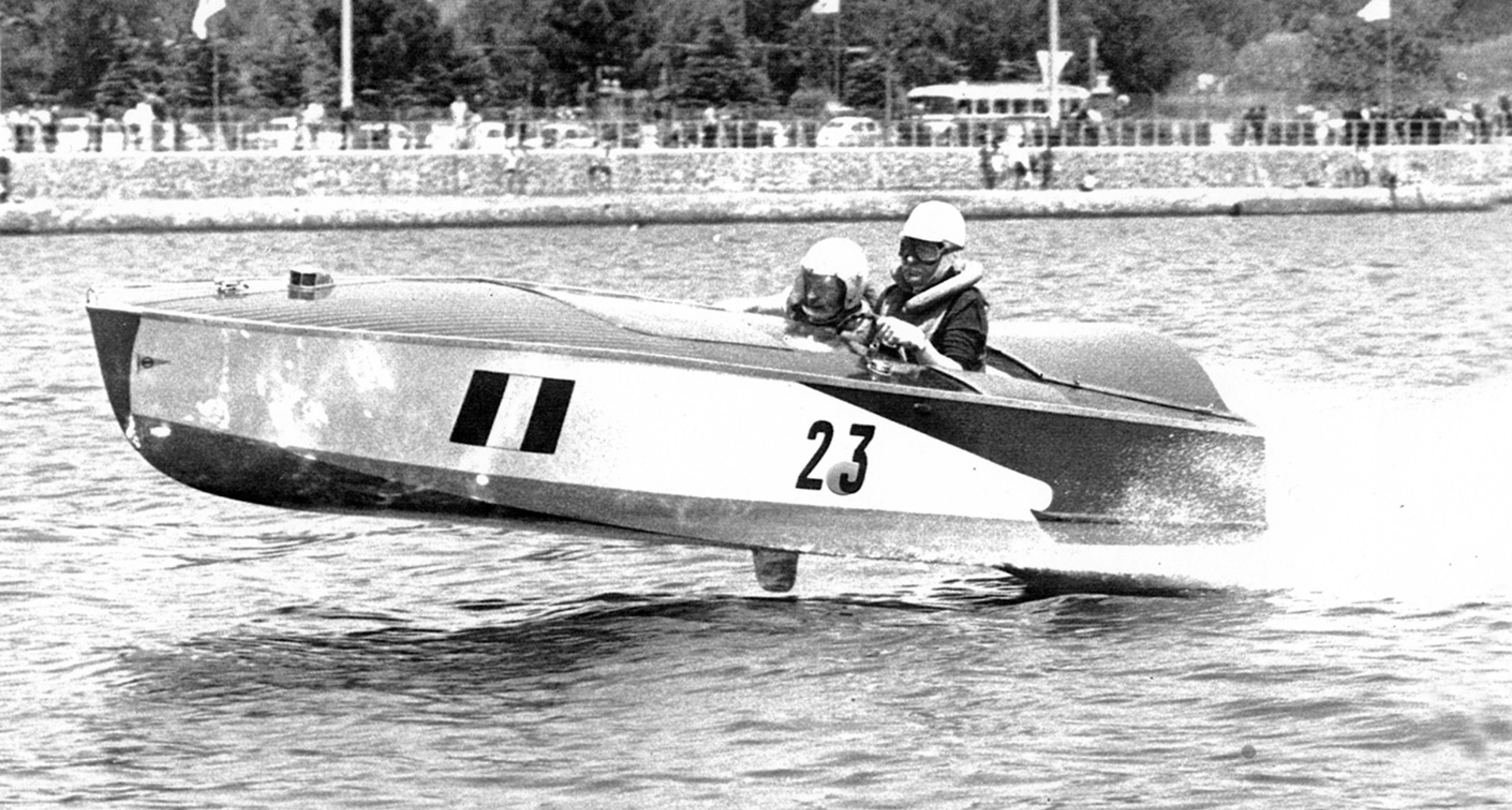 Maserati engines were used in powerboat racing in the 50s and 60s