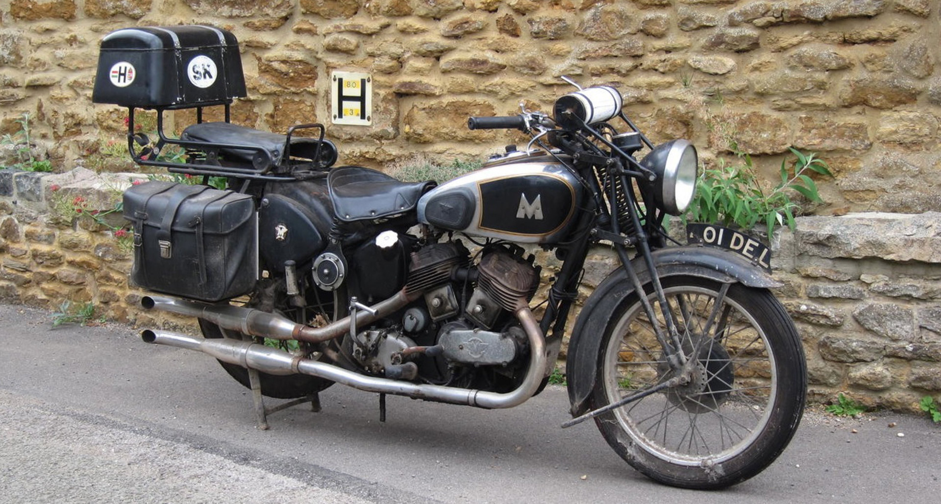 A 1937 Matchless 982cc Model X, sold by Bonhams in 2011 for £16.675.