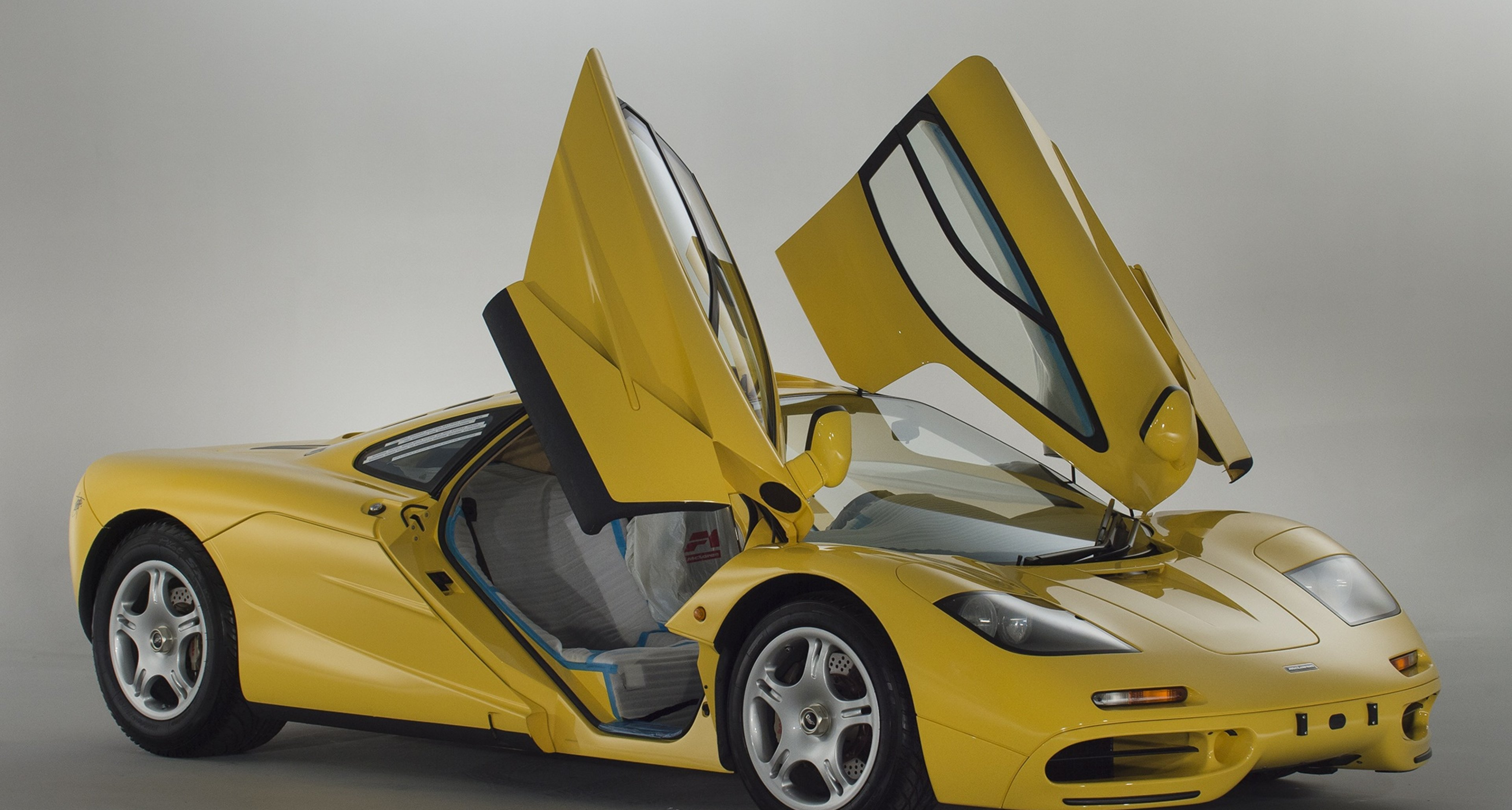 delivery-mileage mclaren f1 emerges from japanese time capsule