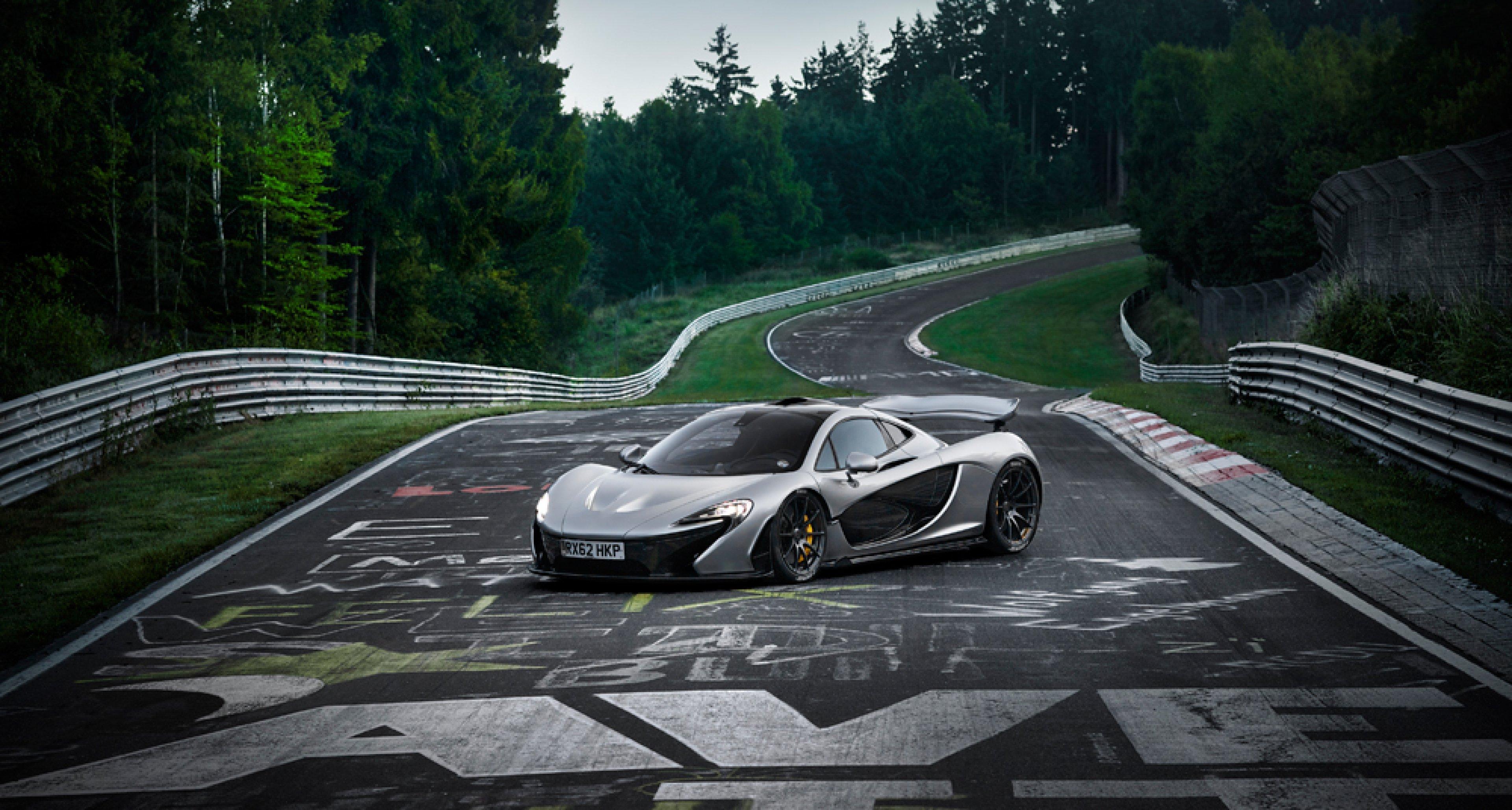 McLaren P1 at the Nürburgring.