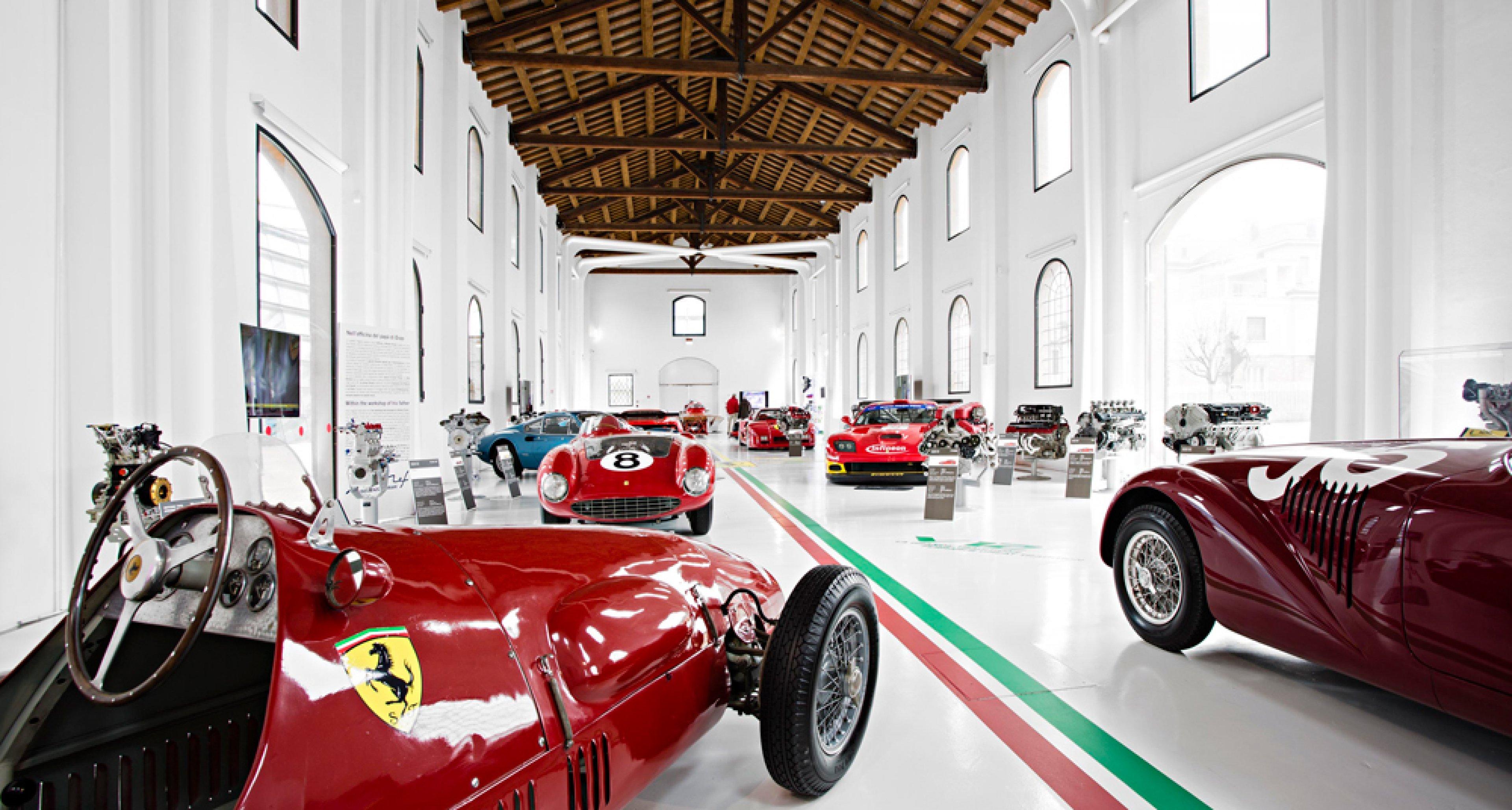 Neue Attraktionen Im Enzo Ferrari Museum In Modena Classic Driver Magazine