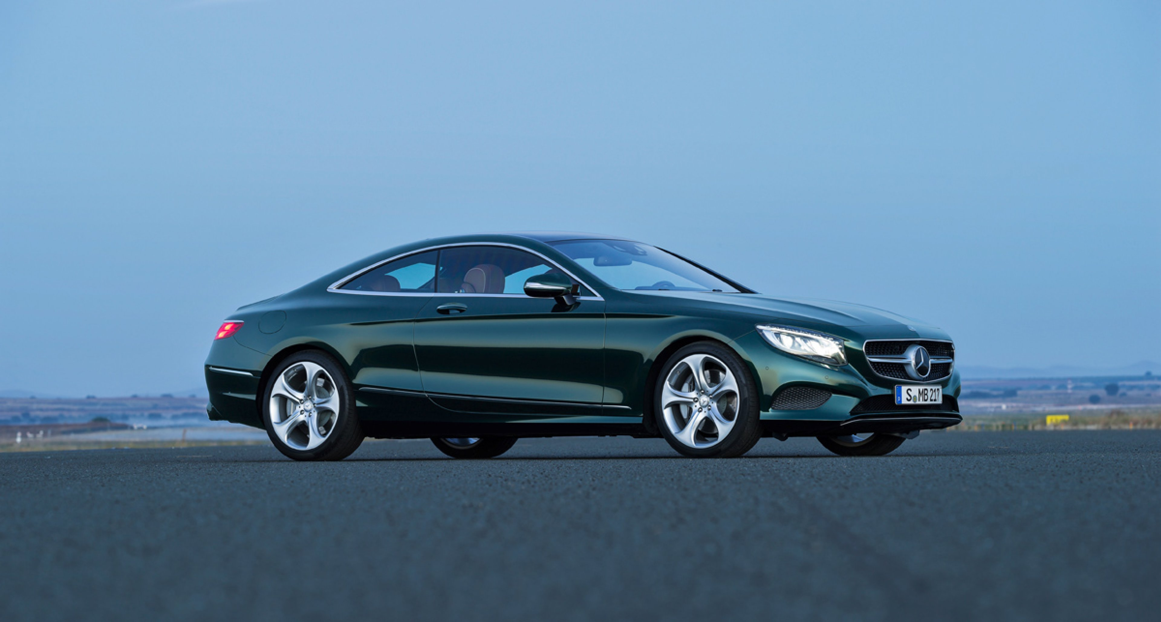 New Mercedes S-class Coupe