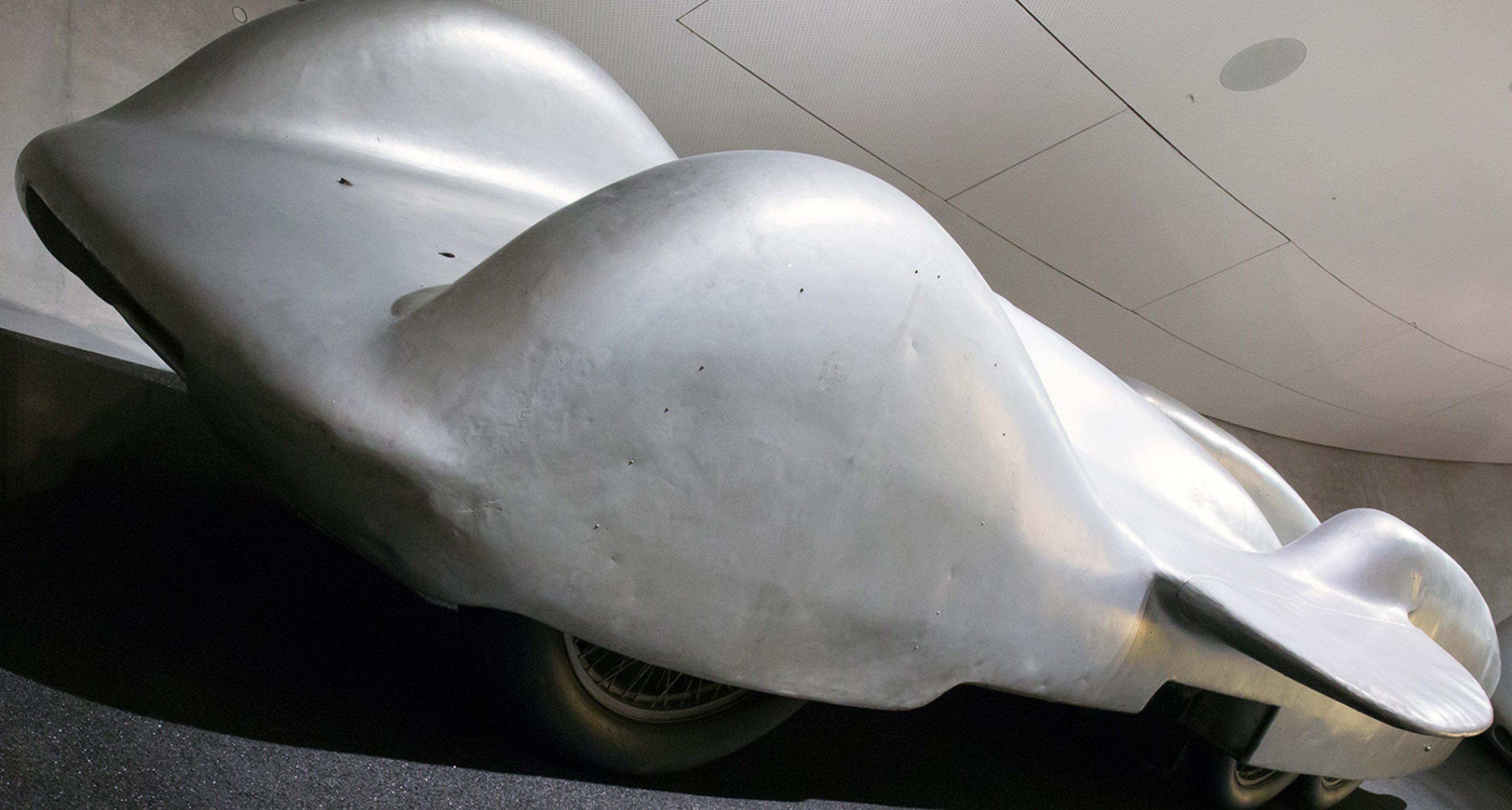 The Ferdinand Porsche-engineered Mercedes T80 Land Speed Record challenger