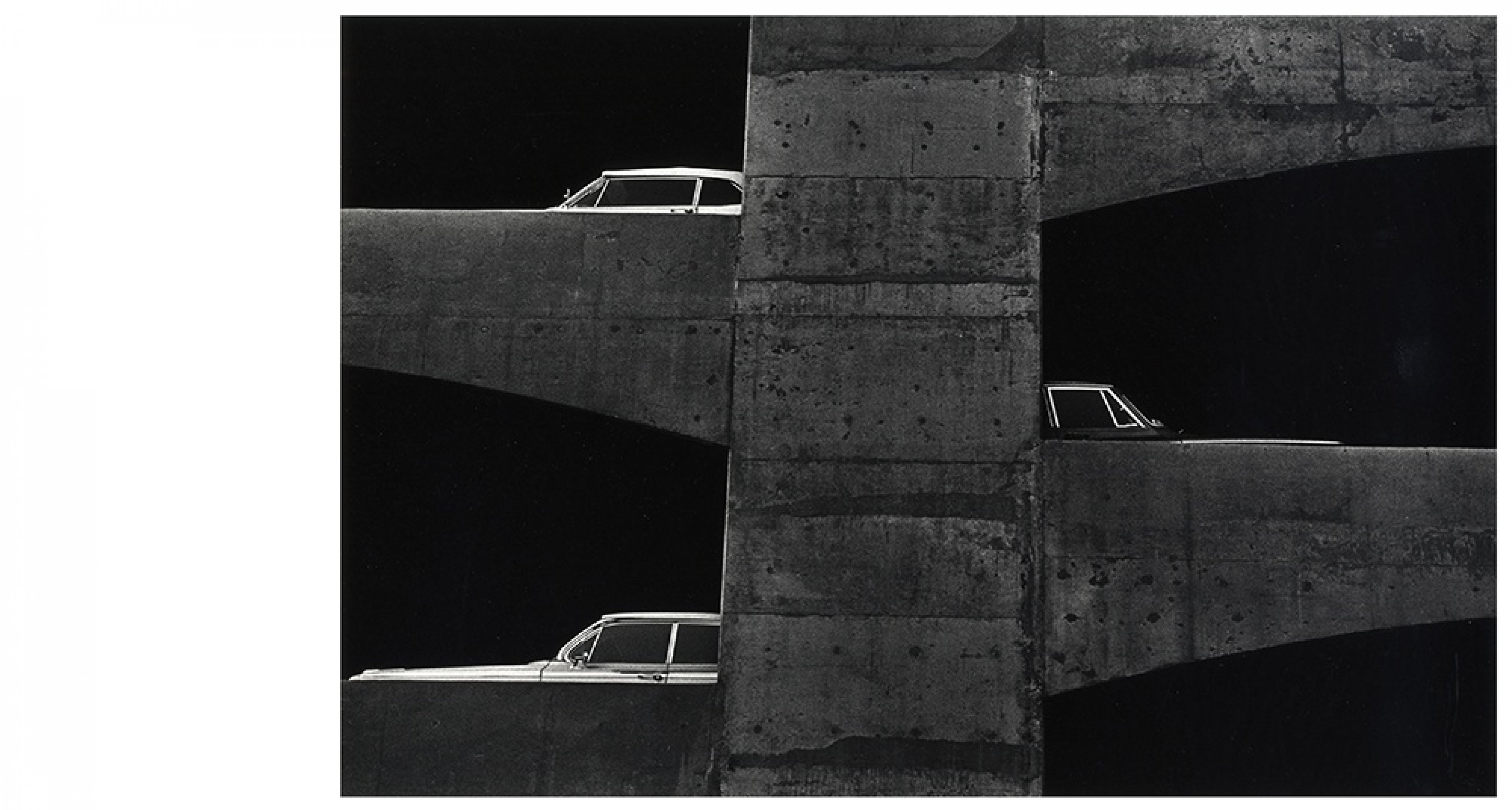 Ray K. Metzker, Washington, DC, 1964 Gelatin silver print, 20 × 25.5 cm Courtesy Les Douches la Galerie, Paris/Laurence Miller Gallery, New York © Estate Ray K. Metzker, courtesy Les Douches la Galerie, Paris/Laurence Miller Gallery, New York