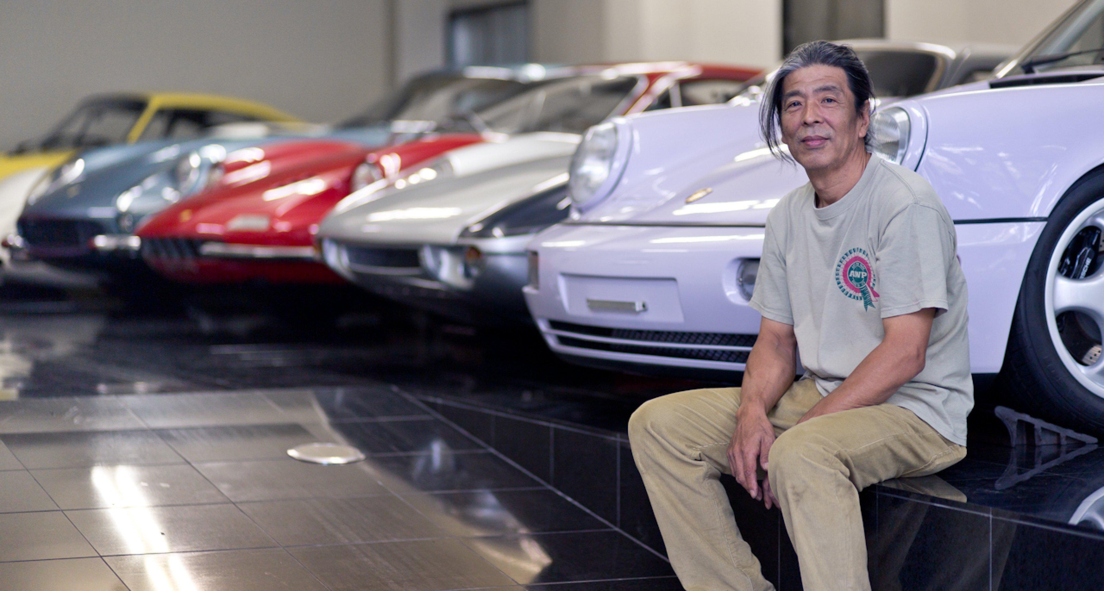 Naito-san and his collection