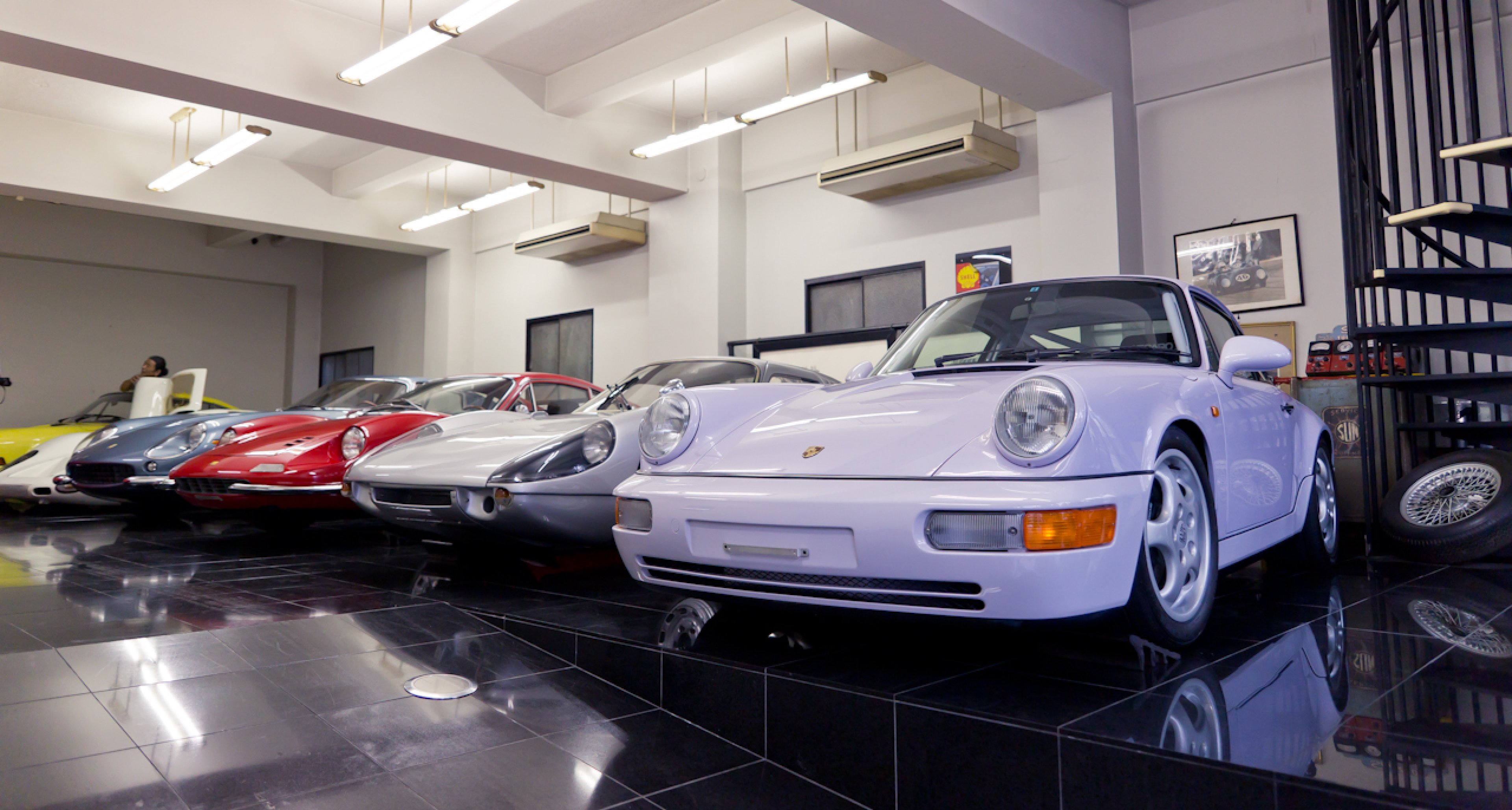 This Porsche 964 is arguably the most desirable variant, the RS Clubsport.