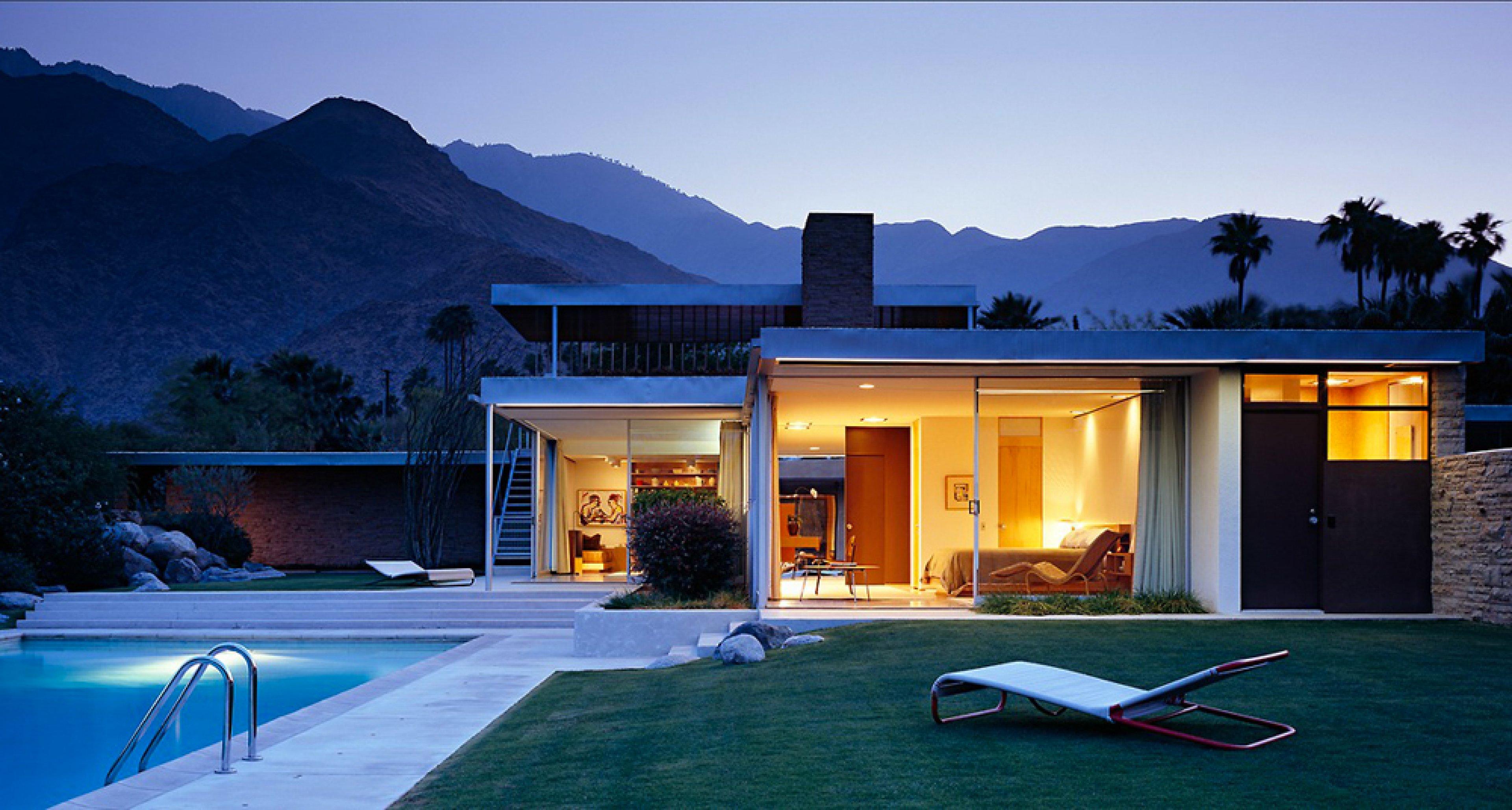 Neutra Waschbecken ikonen des desert modernism die 5 coolsten häuser palm springs