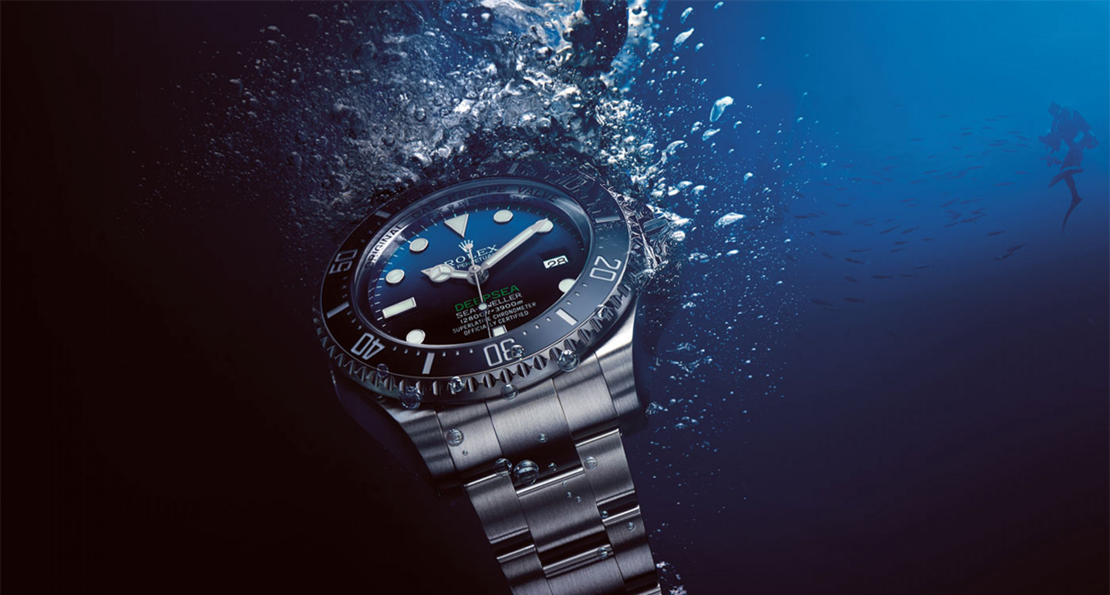 The 2014 Rolex Deep Sea with the allnew D-Blue dial